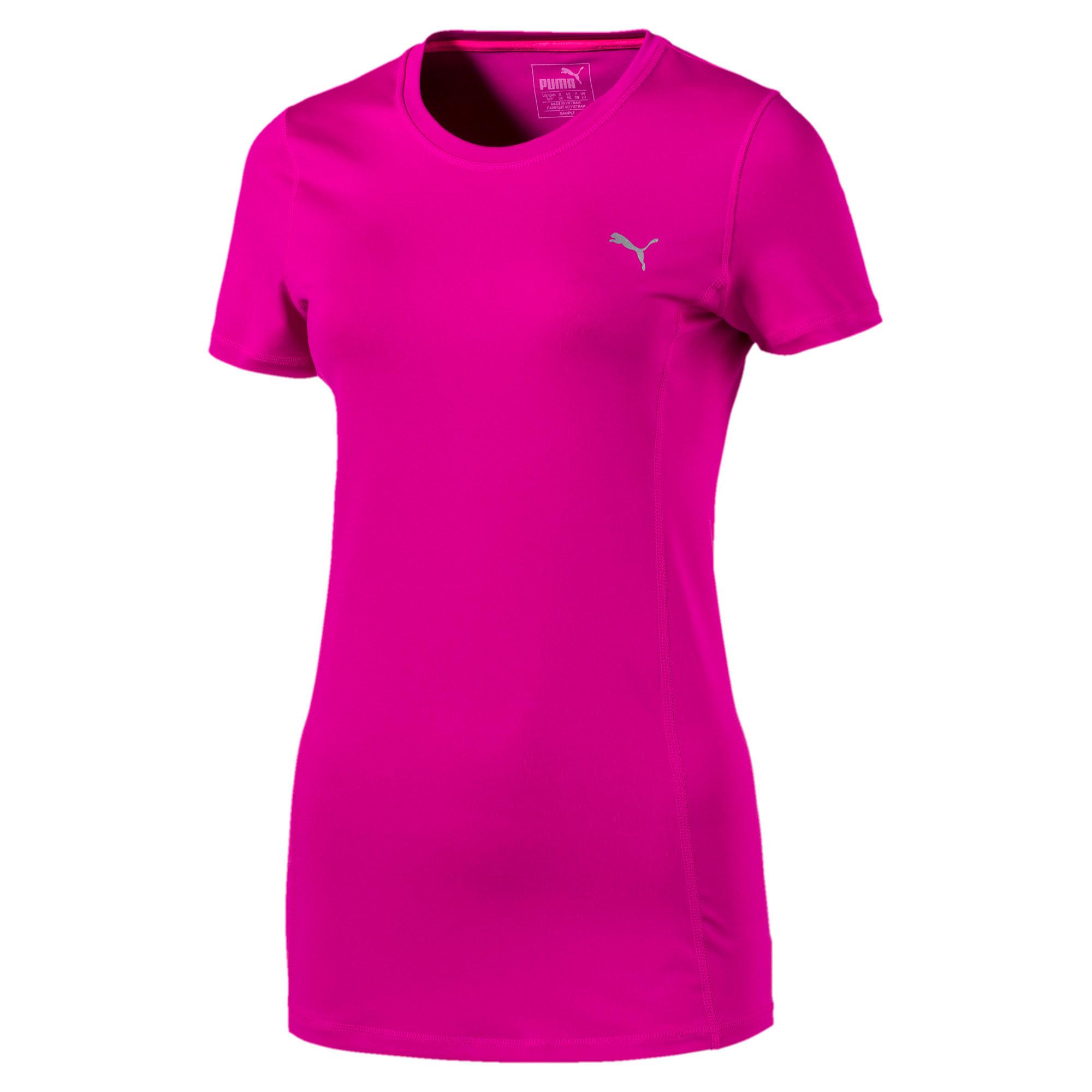 Thumbnail 4 of Training Women's Essential T-Shirt, ULTRA MAGENTA, medium-IND