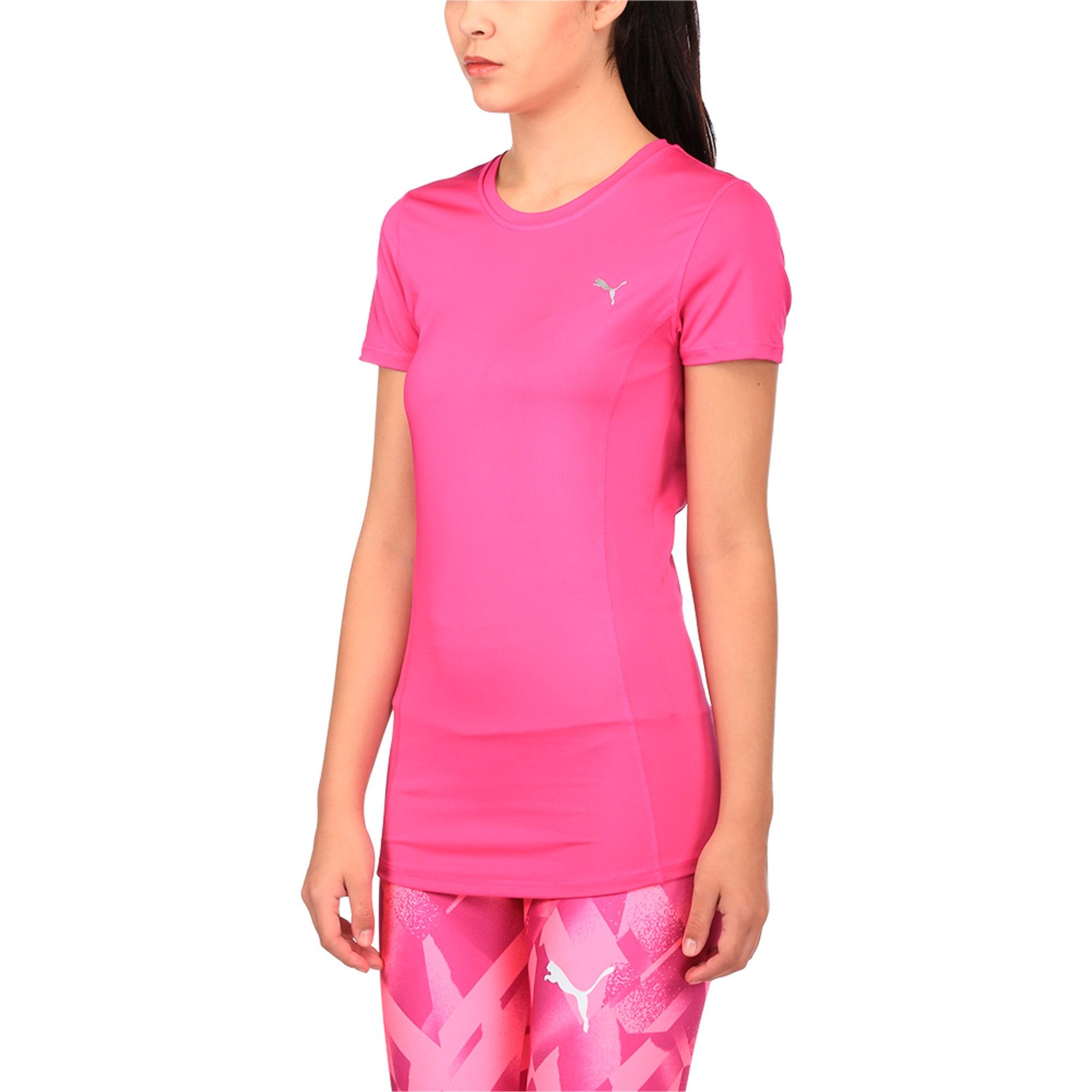 Thumbnail 2 of Training Women's Essential T-Shirt, ULTRA MAGENTA, medium-IND