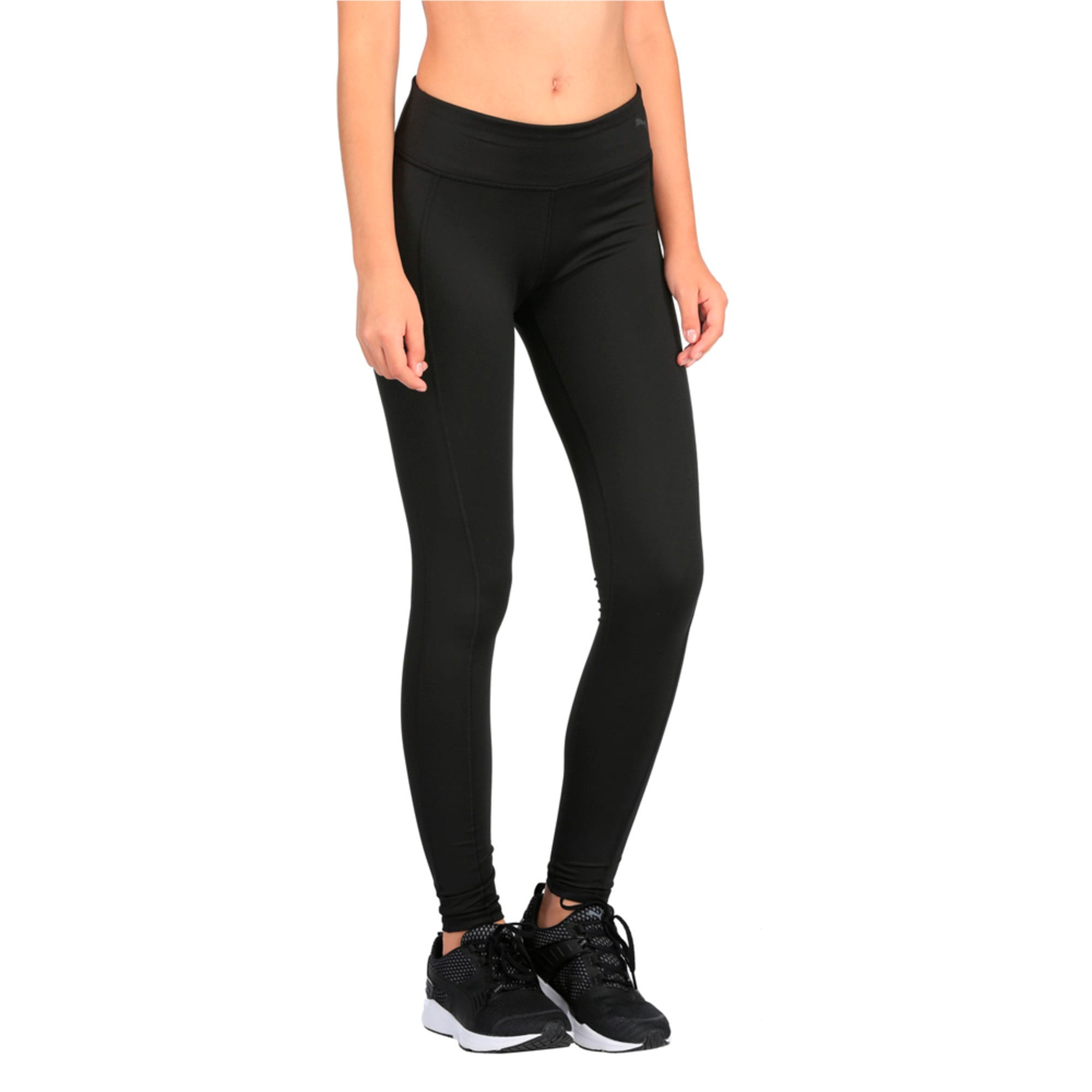 Thumbnail 1 of Training Women's Essential Tights, Puma Black, medium-IND