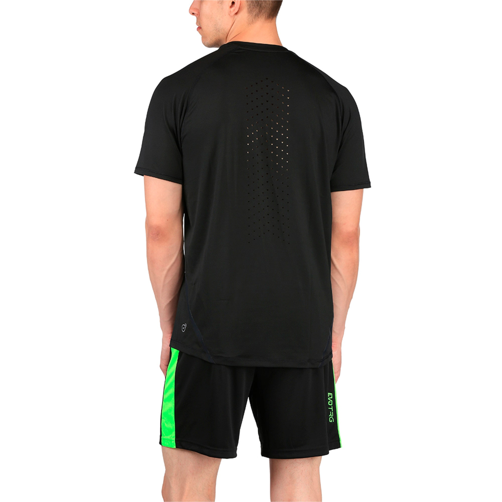 Thumbnail 3 of Active Training Men's Power T-Shirt, Puma Black, medium-IND