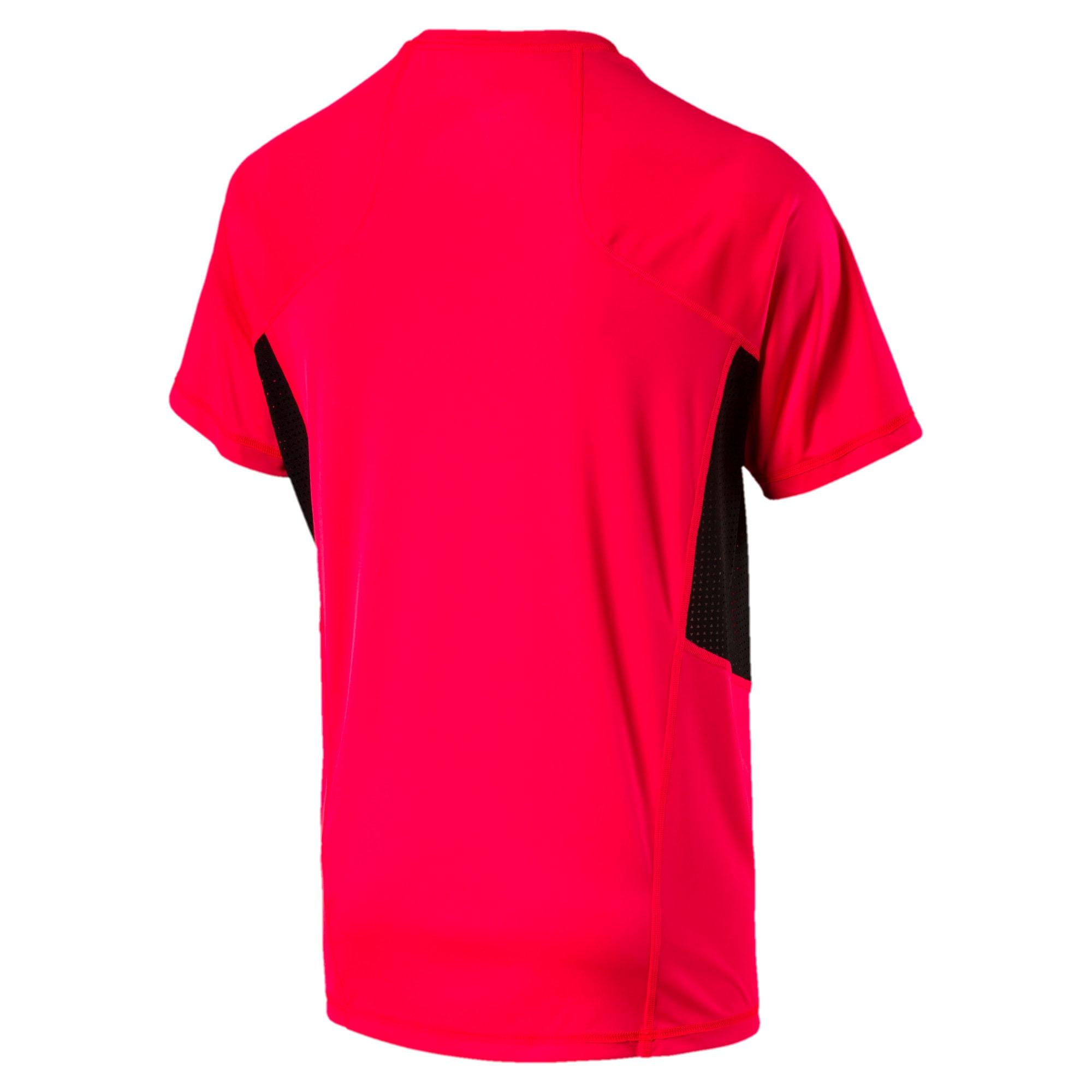 Thumbnail 4 of Active Training Men's Vent Cat T-Shirt, Bright Plasma, medium-IND