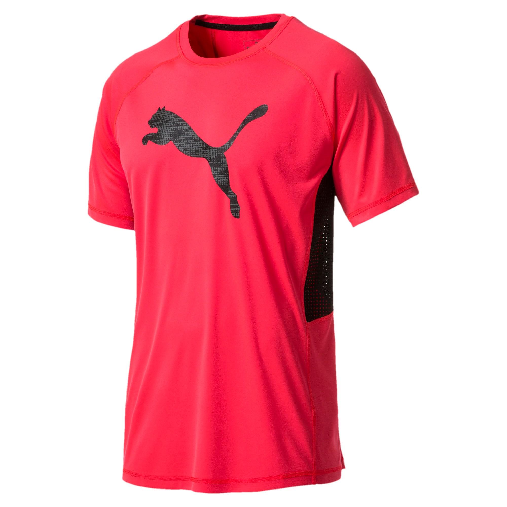 Thumbnail 3 of Active Training Men's Vent Cat T-Shirt, Bright Plasma, medium-IND