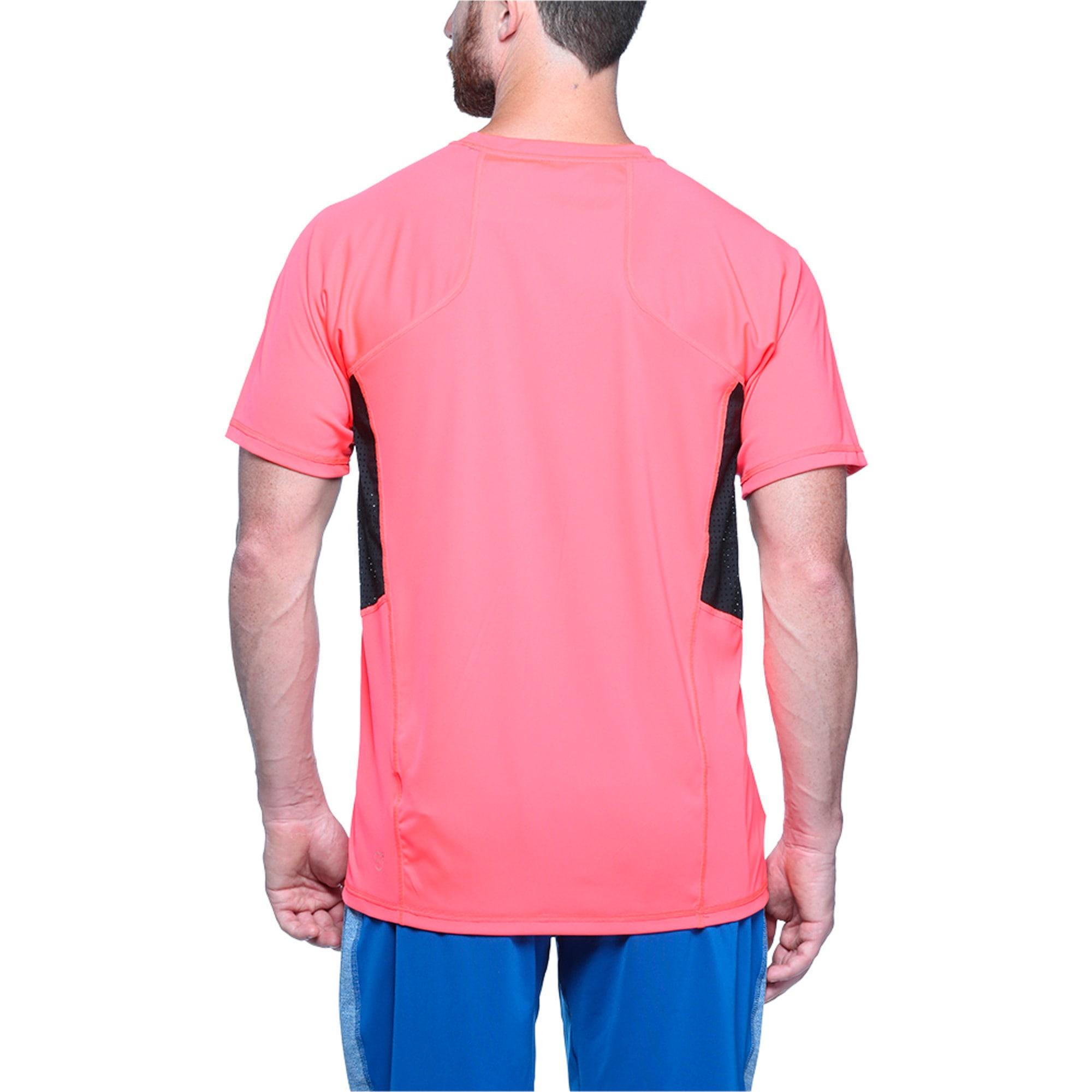Thumbnail 2 of Active Training Men's Vent Cat T-Shirt, Bright Plasma, medium-IND