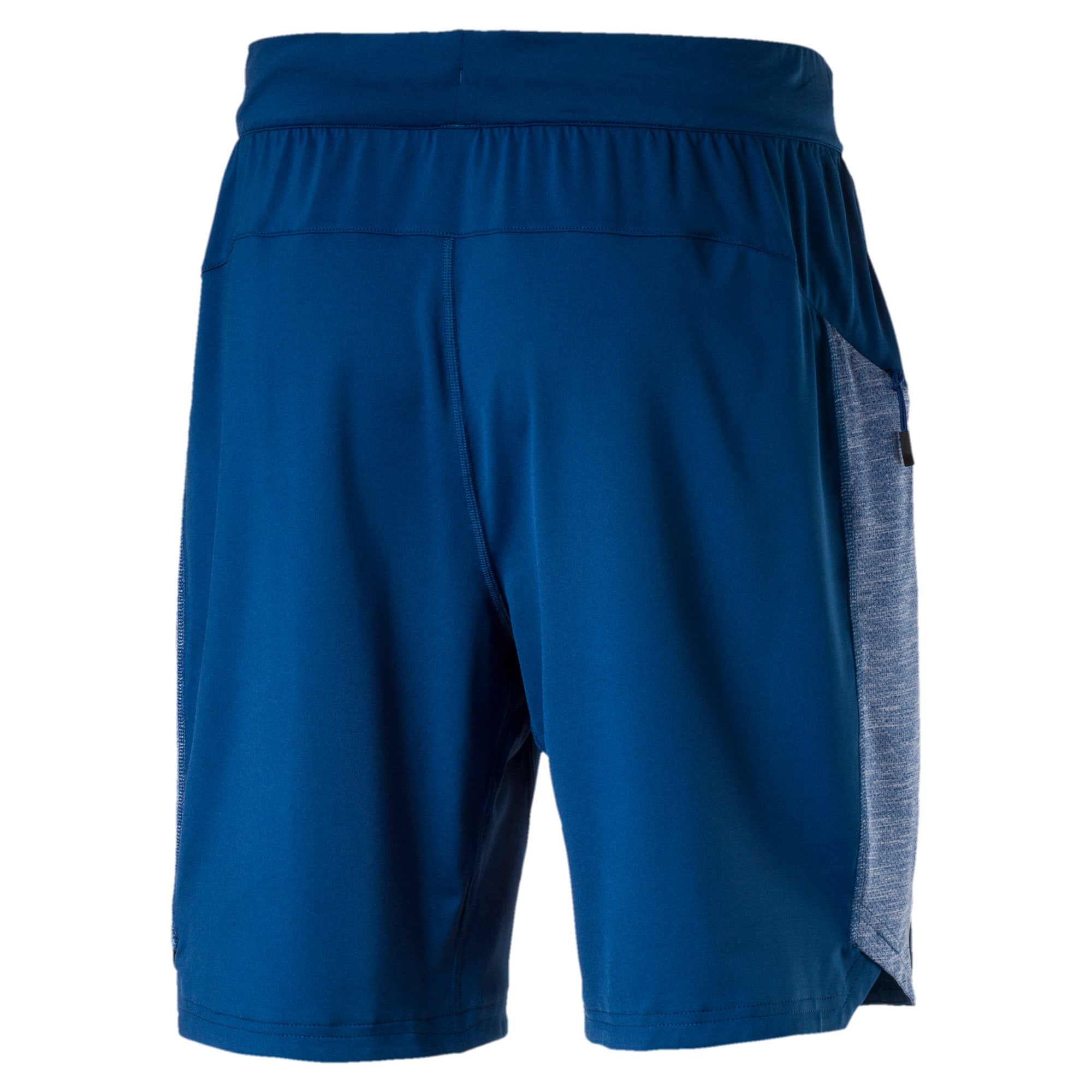 Thumbnail 6 of Active Training Men's Bonded Tech Shorts, TRUE BLUE-TRUE BLUE Heather, medium-IND