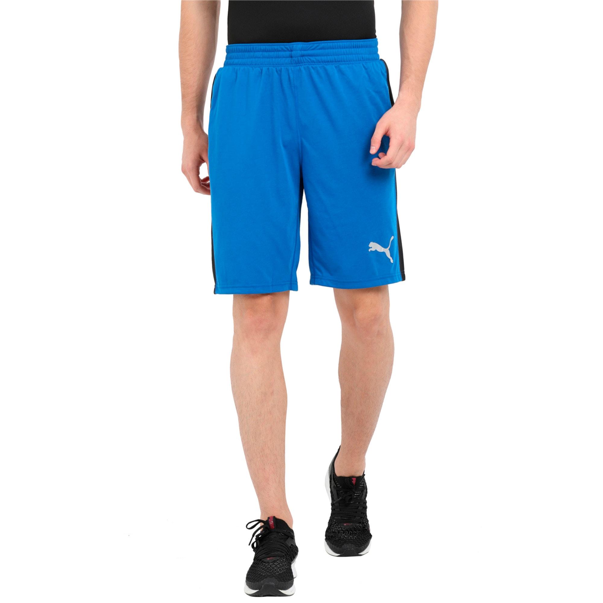 Thumbnail 1 of Essential drirelease Men's Training Shorts, Turkish Sea-Puma Black, medium-IND