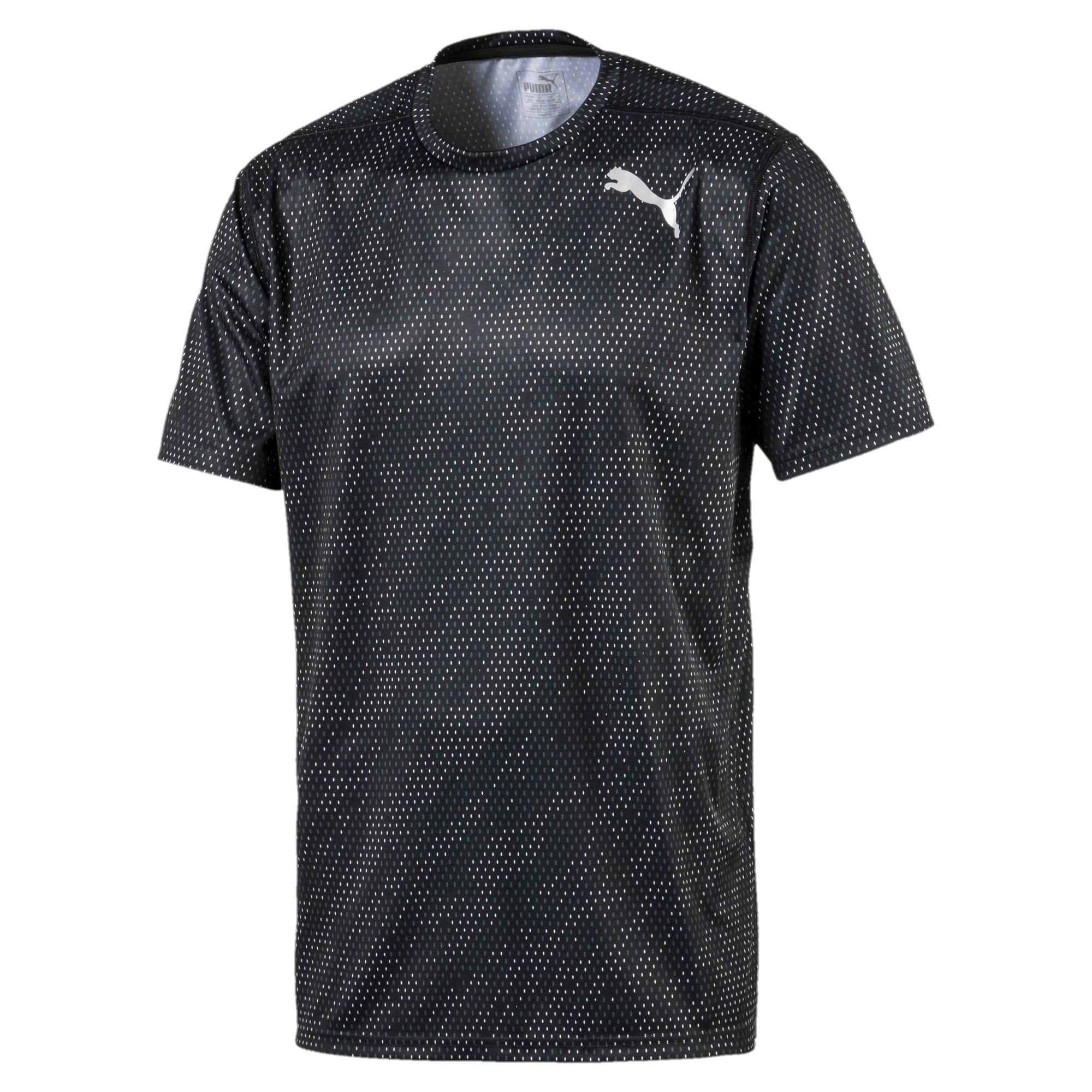 Thumbnail 4 of Training Men's Tech Graphic T-Shirt, puma black-Q3, medium-IND