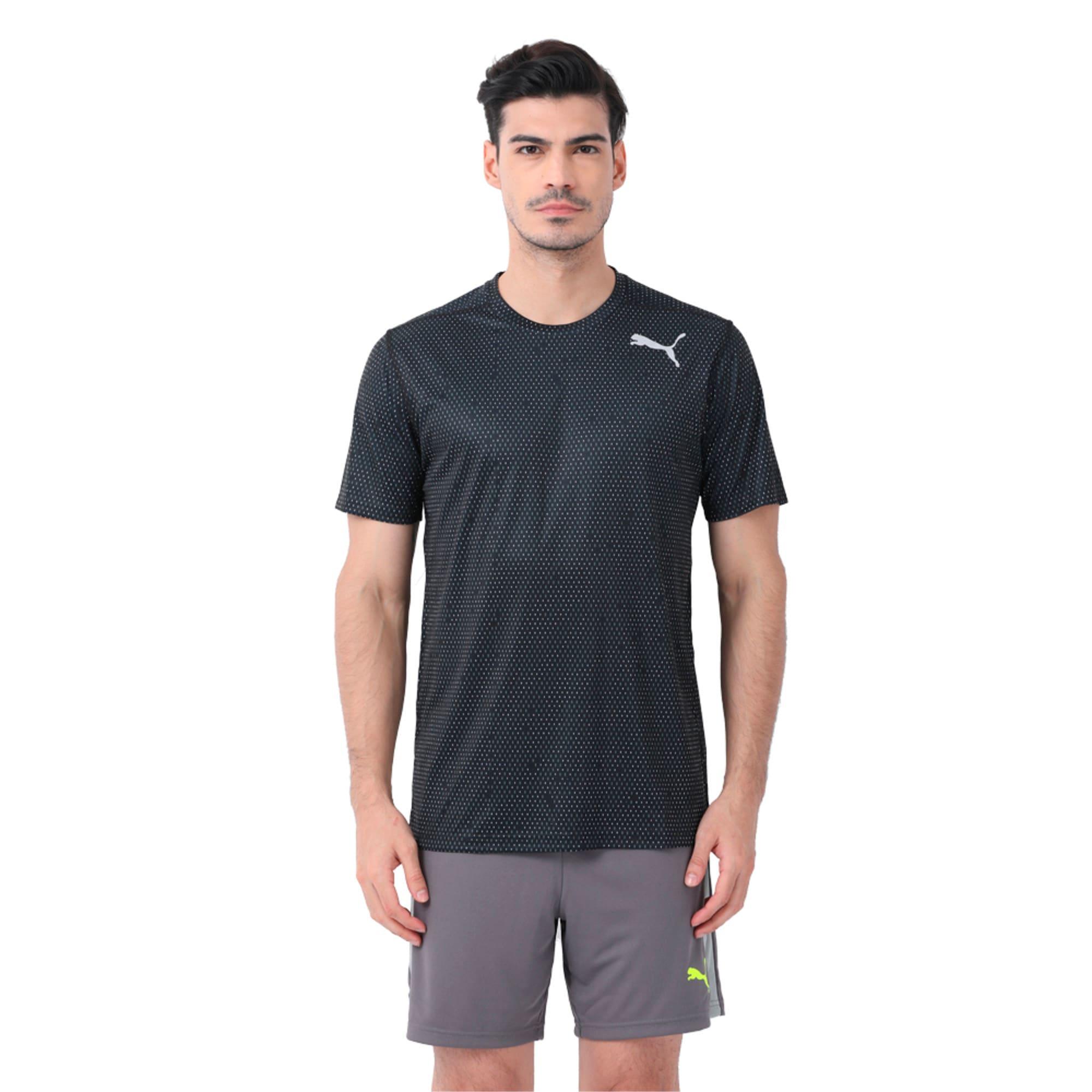 Thumbnail 1 of Training Men's Tech Graphic T-Shirt, puma black-Q3, medium-IND