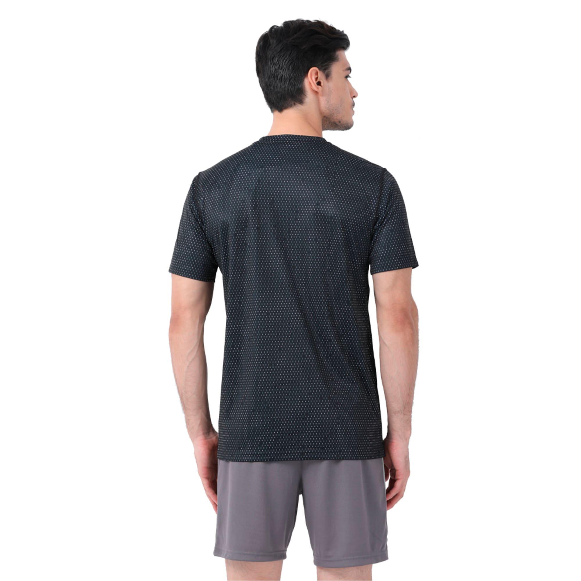Thumbnail 2 of Training Men's Tech Graphic T-Shirt, puma black-Q3, medium-IND