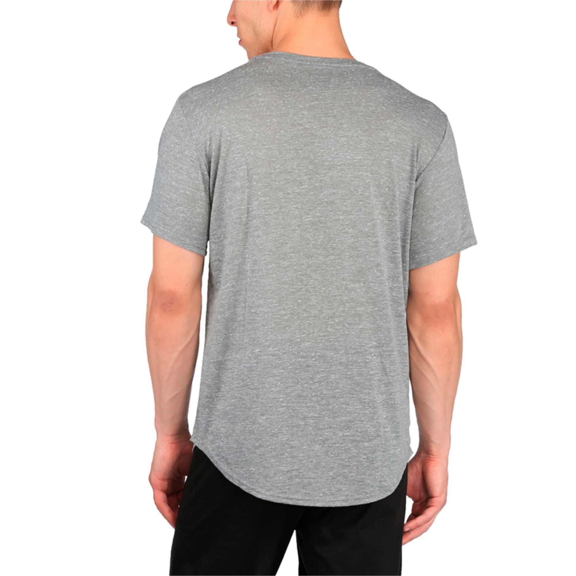 Thumbnail 2 of Active Training Men's Dri-Release® Novelty T-Shirt, Medium Gray Heather, medium-IND