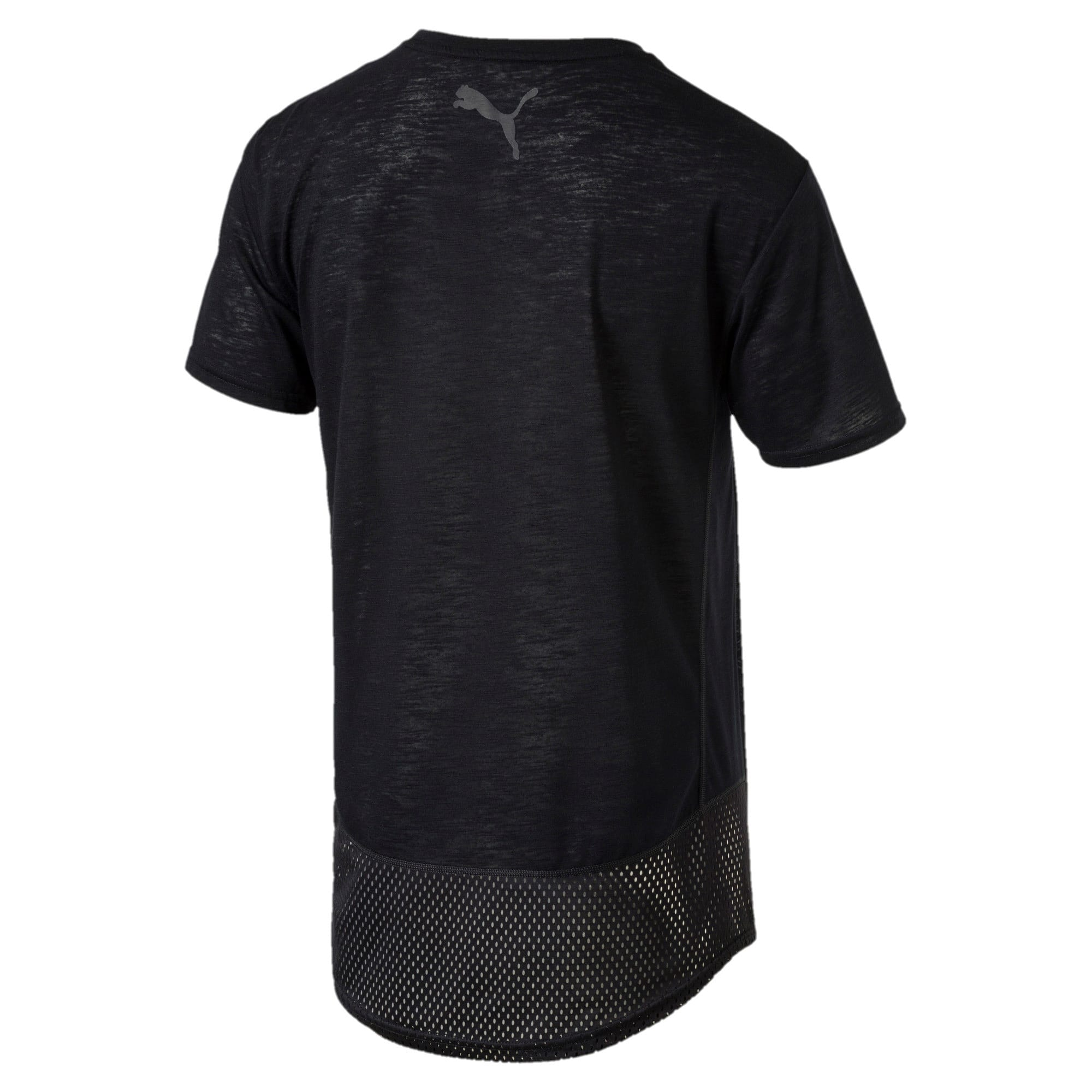Thumbnail 4 of Active Training Men's Dri-Release® Novelty Graphic T-Shirt, Puma Black Heather, medium-IND