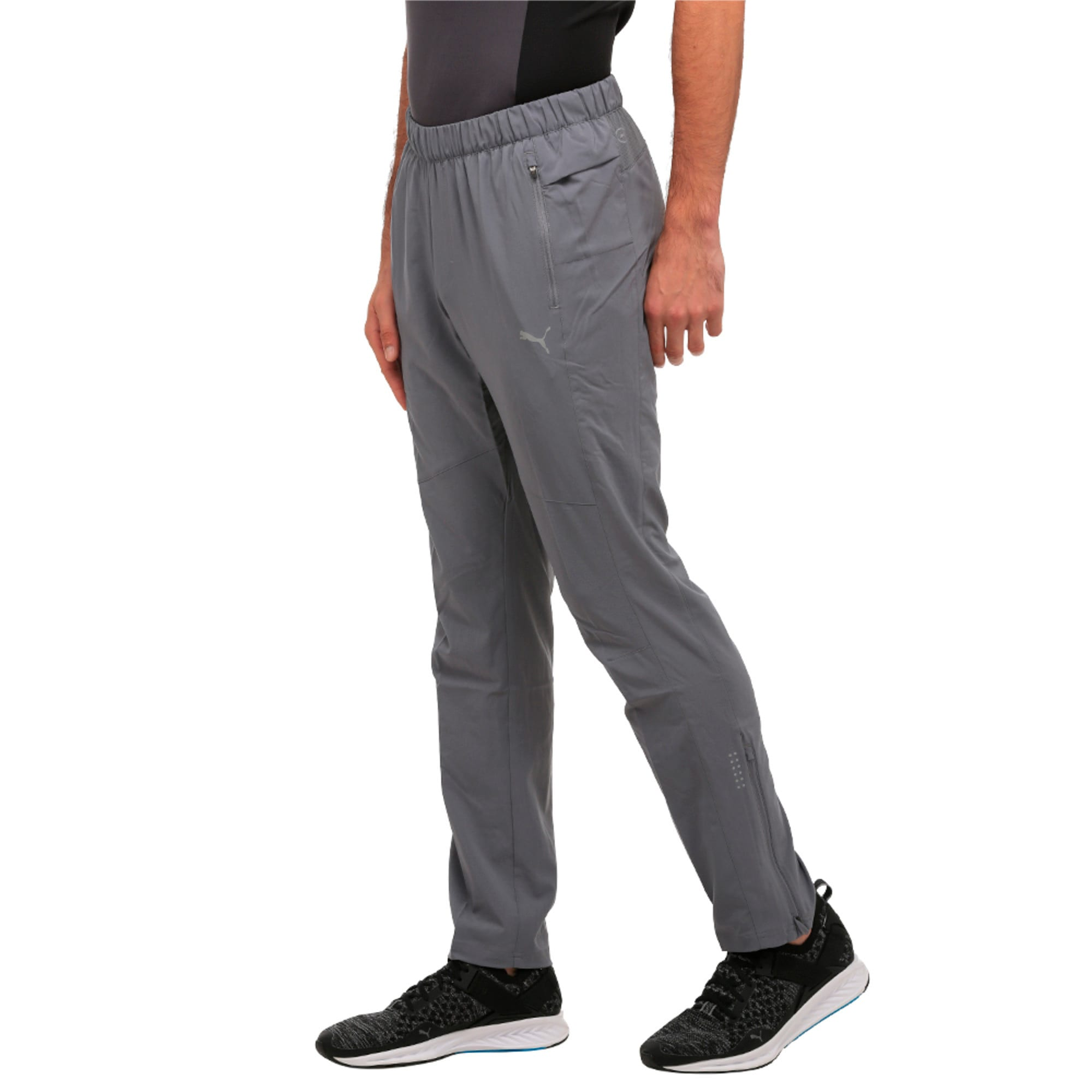 Thumbnail 4 of Tapered Woven Pant, QUIET SHADE, medium-IND