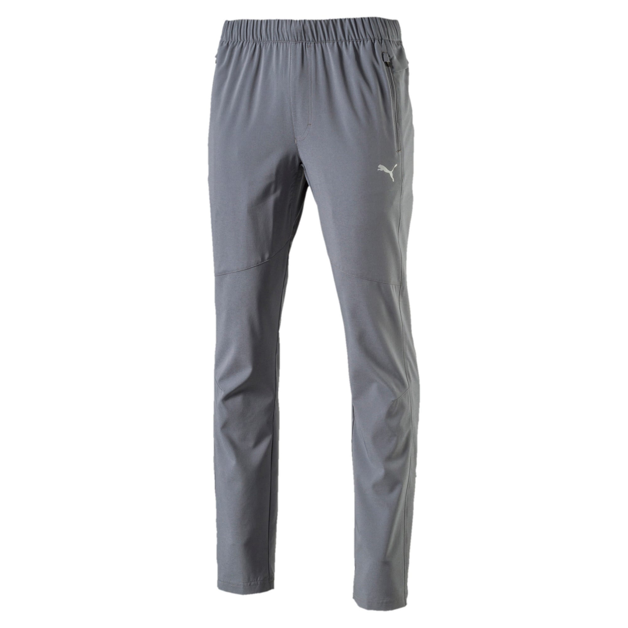 Thumbnail 3 of Tapered Woven Pant, QUIET SHADE, medium-IND