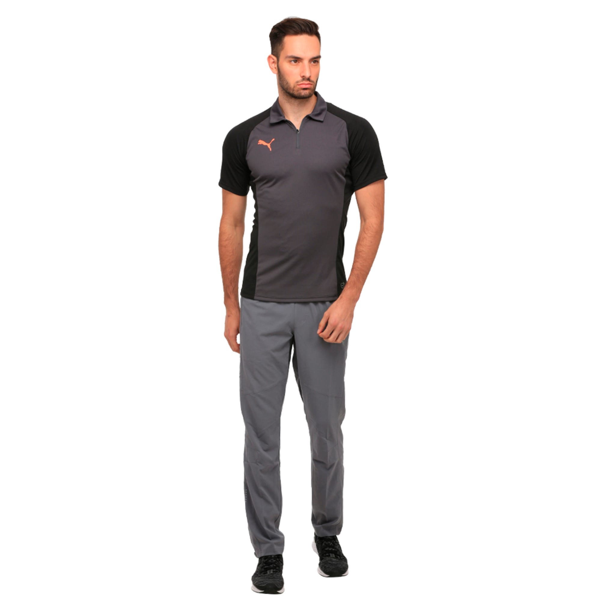 Thumbnail 2 of Tapered Woven Pant, QUIET SHADE, medium-IND