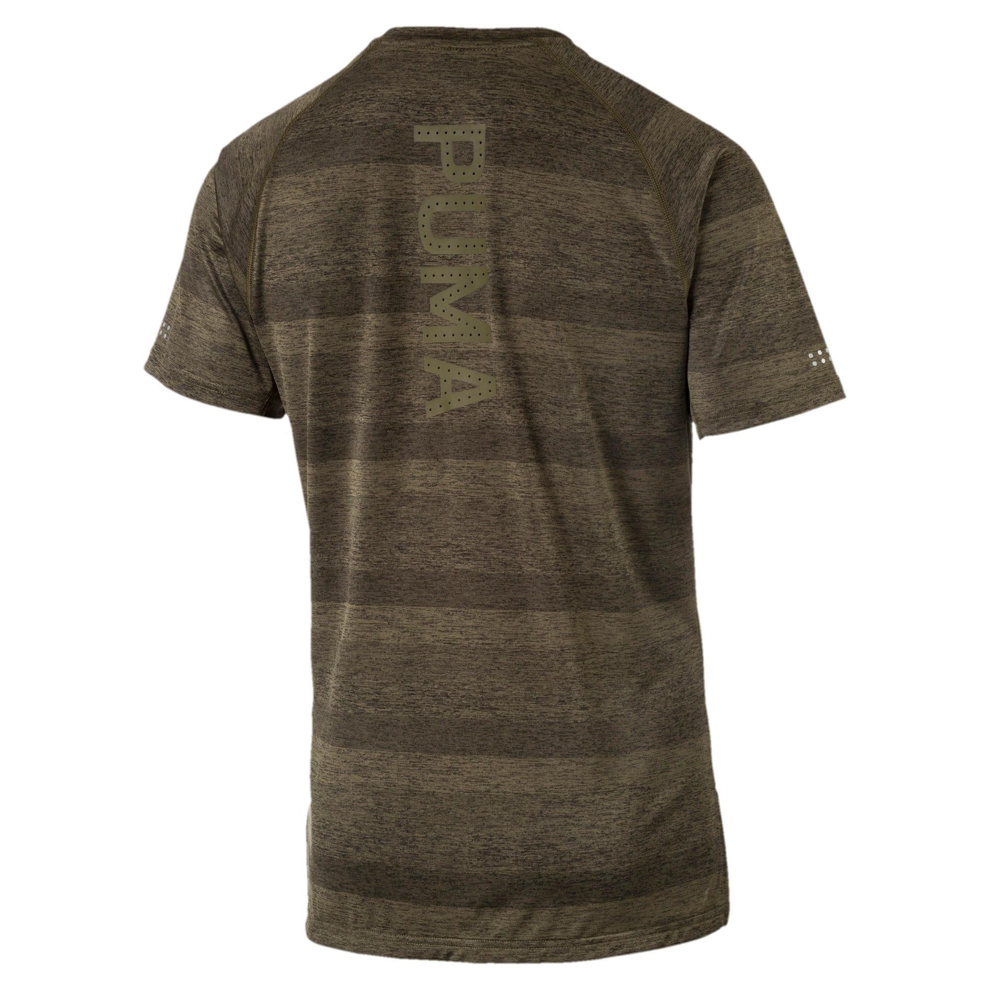 Thumbnail 5 of Running Men's Energy T-Shirt, Olive Night Heather, medium-IND