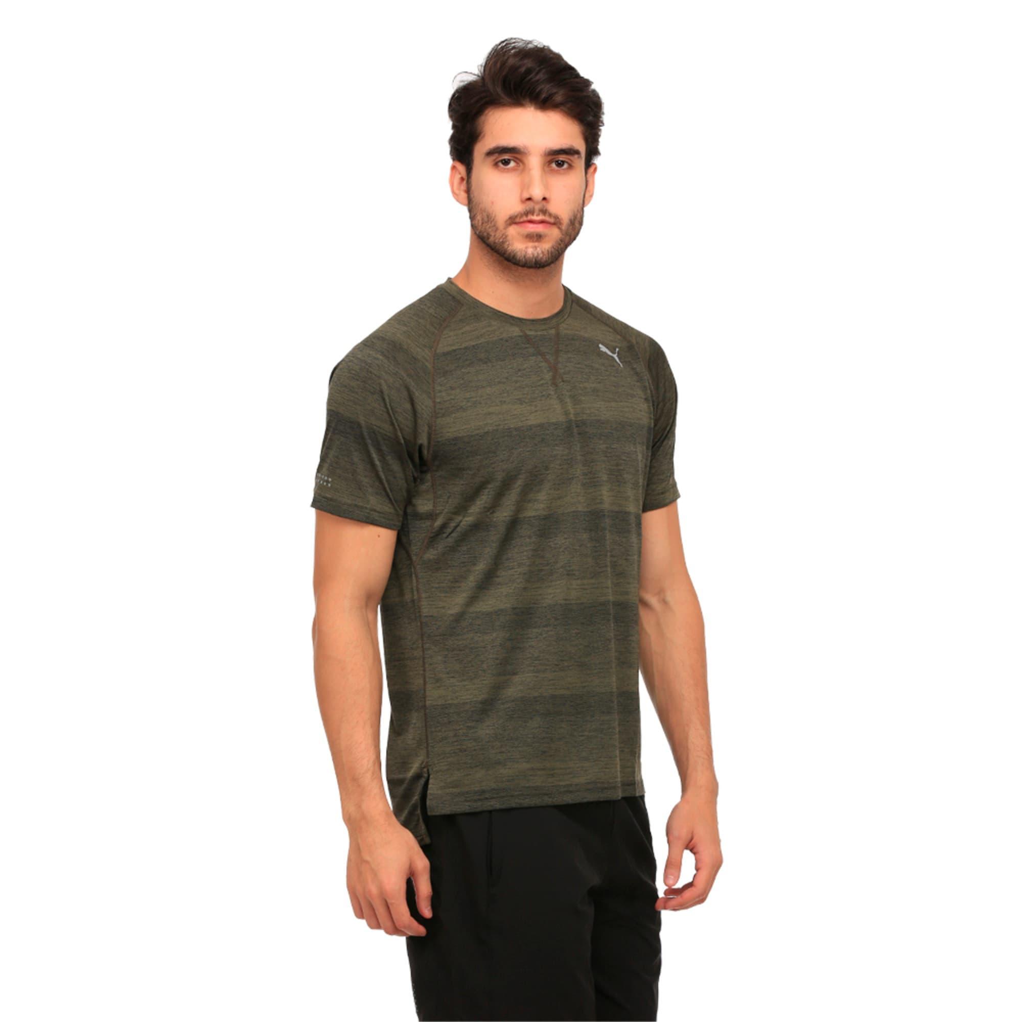 Thumbnail 1 of Running Men's Energy T-Shirt, Olive Night Heather, medium-IND