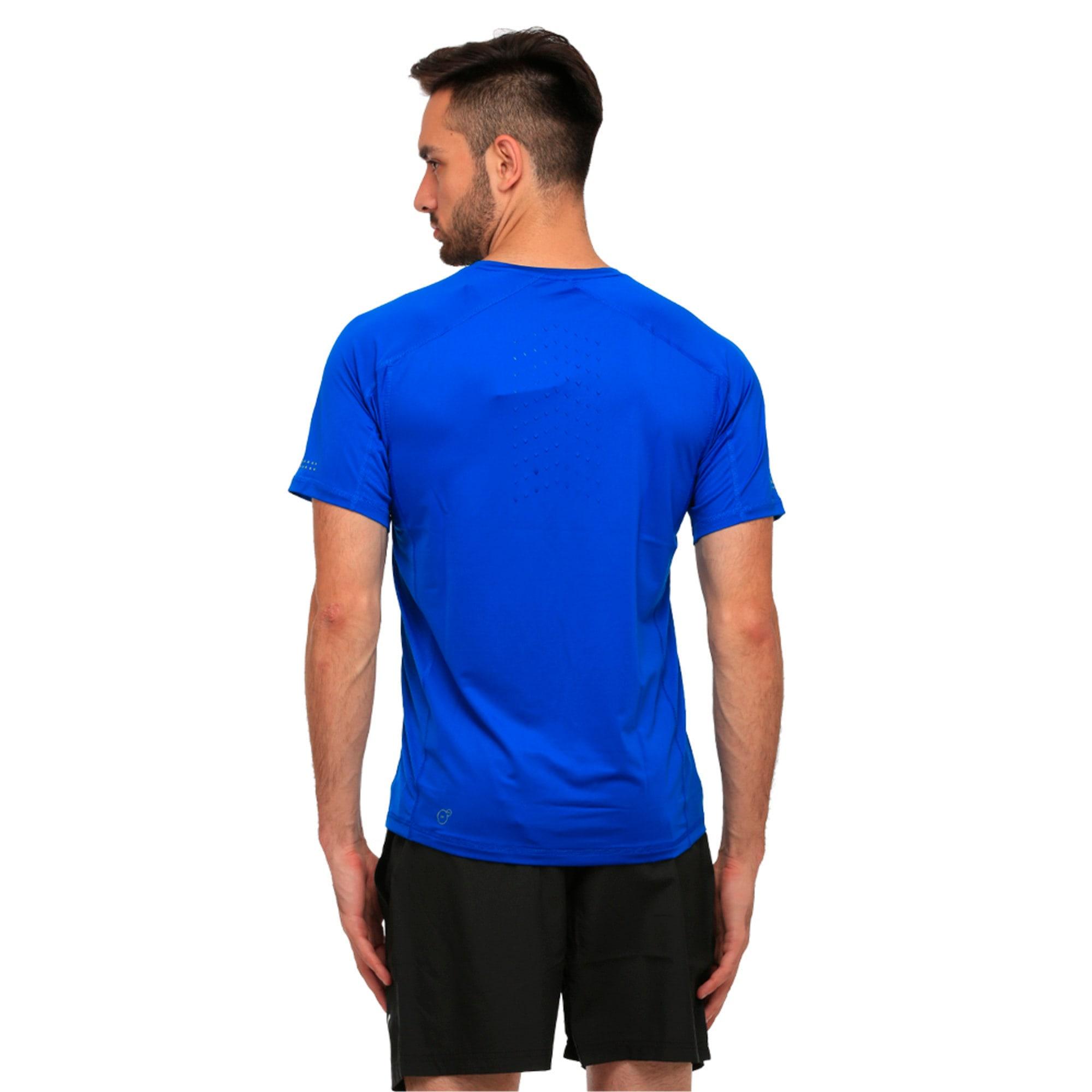Thumbnail 4 of Running Men's Speed T-Shirt, Lapis Blue, medium-IND