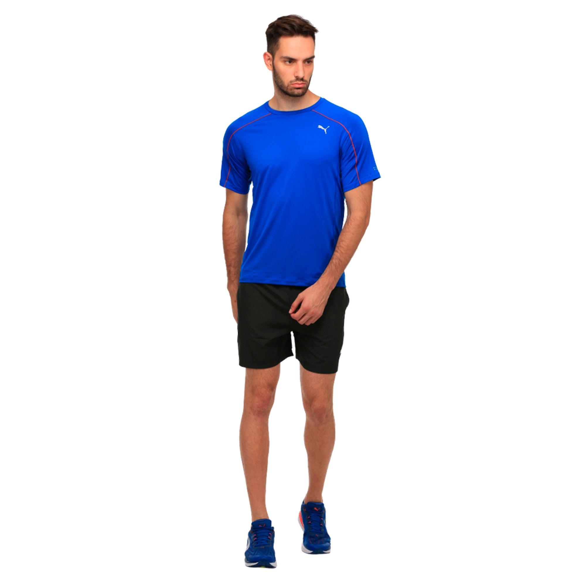 Thumbnail 3 of Running Men's Speed T-Shirt, Lapis Blue, medium-IND