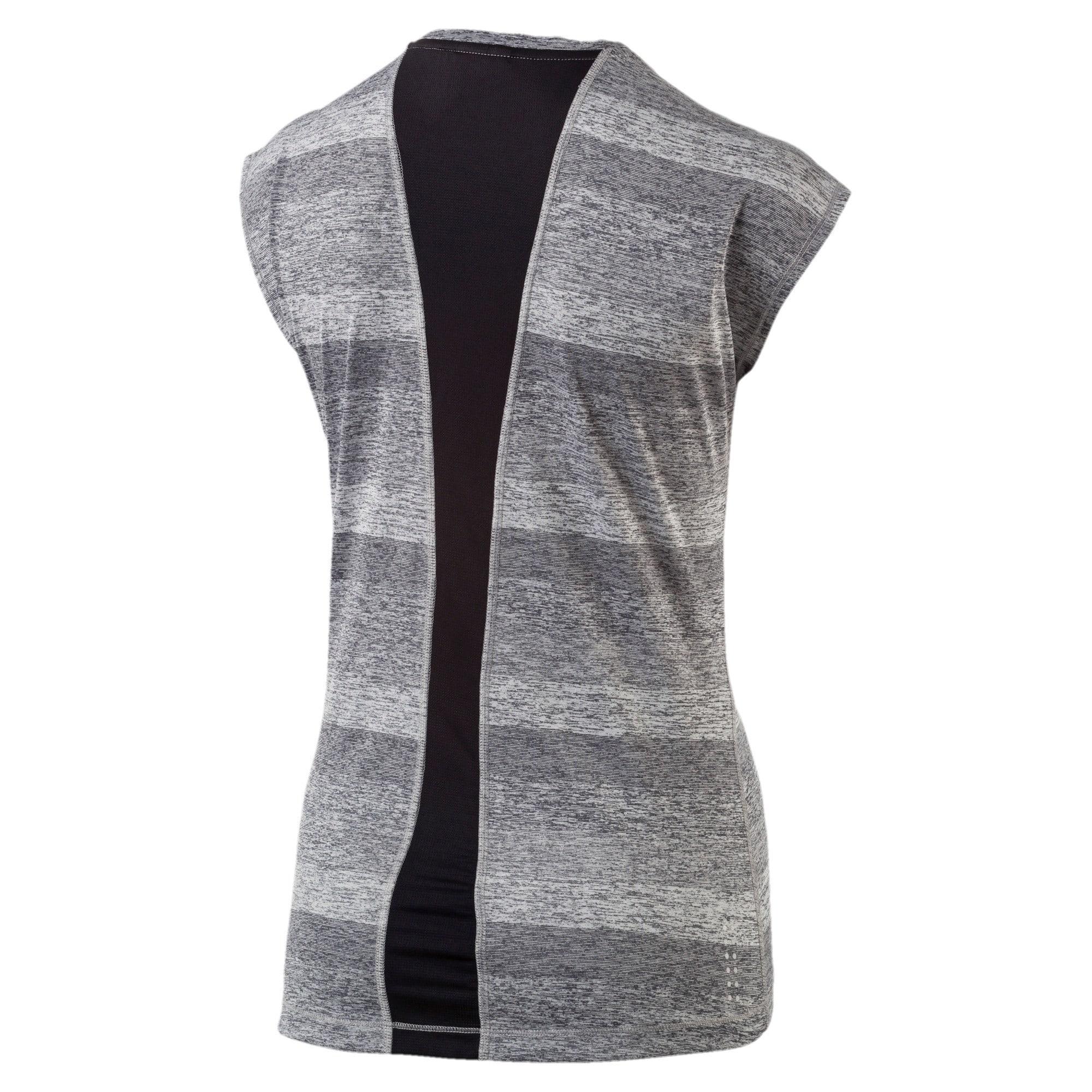 Thumbnail 2 of Running Women's Epic T-Shirt, Medium Gray Hthr-Puma Black, medium-IND