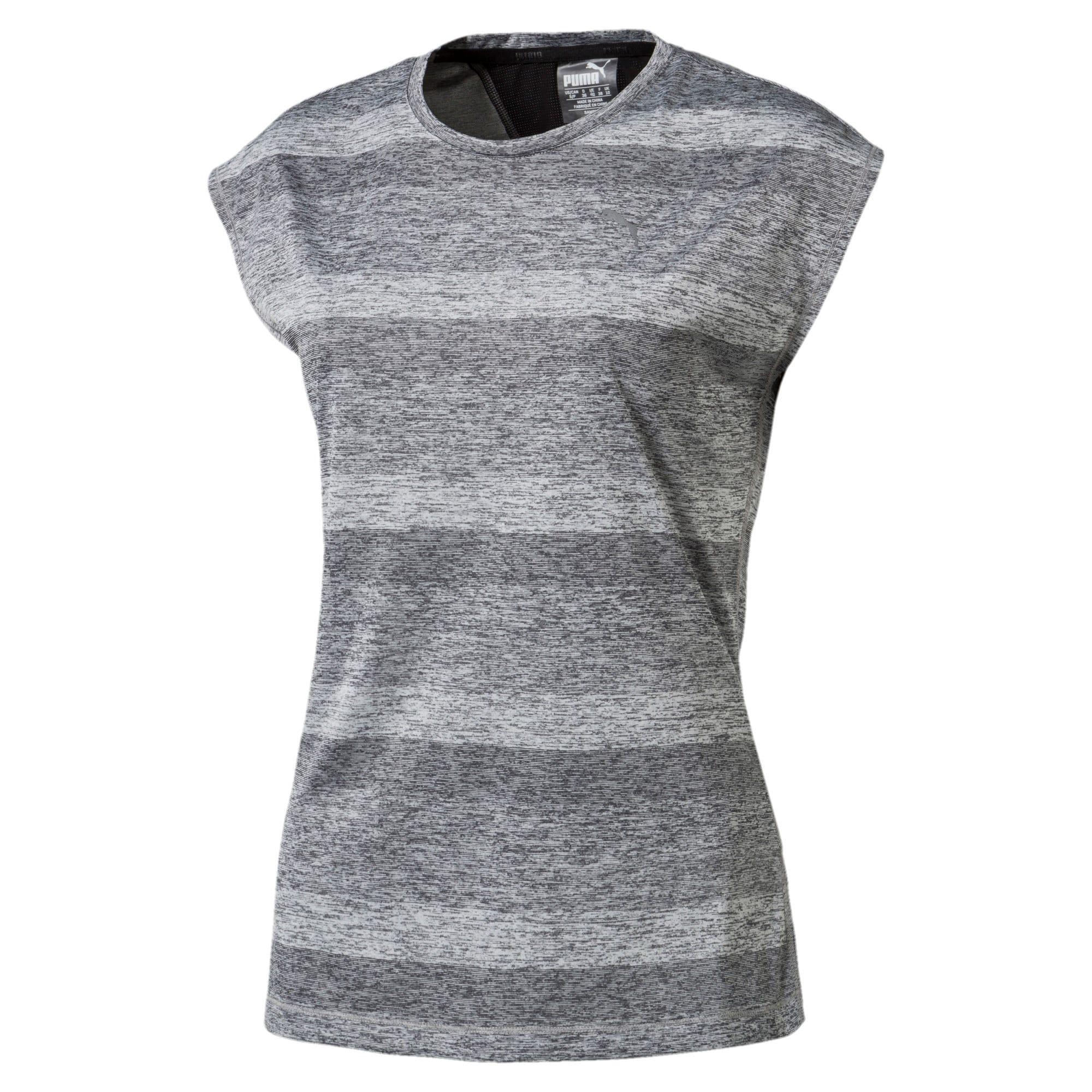 Thumbnail 1 of Running Women's Epic T-Shirt, Medium Gray Hthr-Puma Black, medium-IND