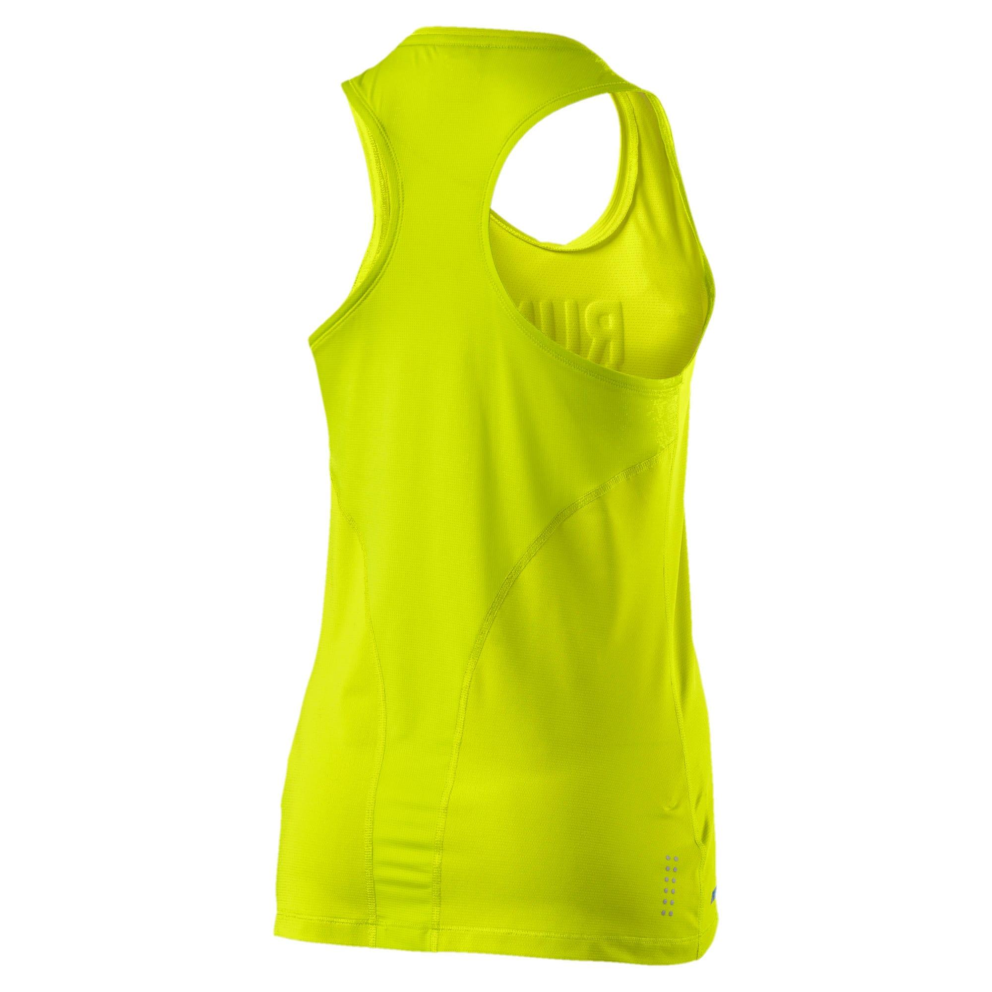 Thumbnail 4 of Running Women's PWRCOOL Slogan Tank Top, Nrgy Yellow, medium-IND