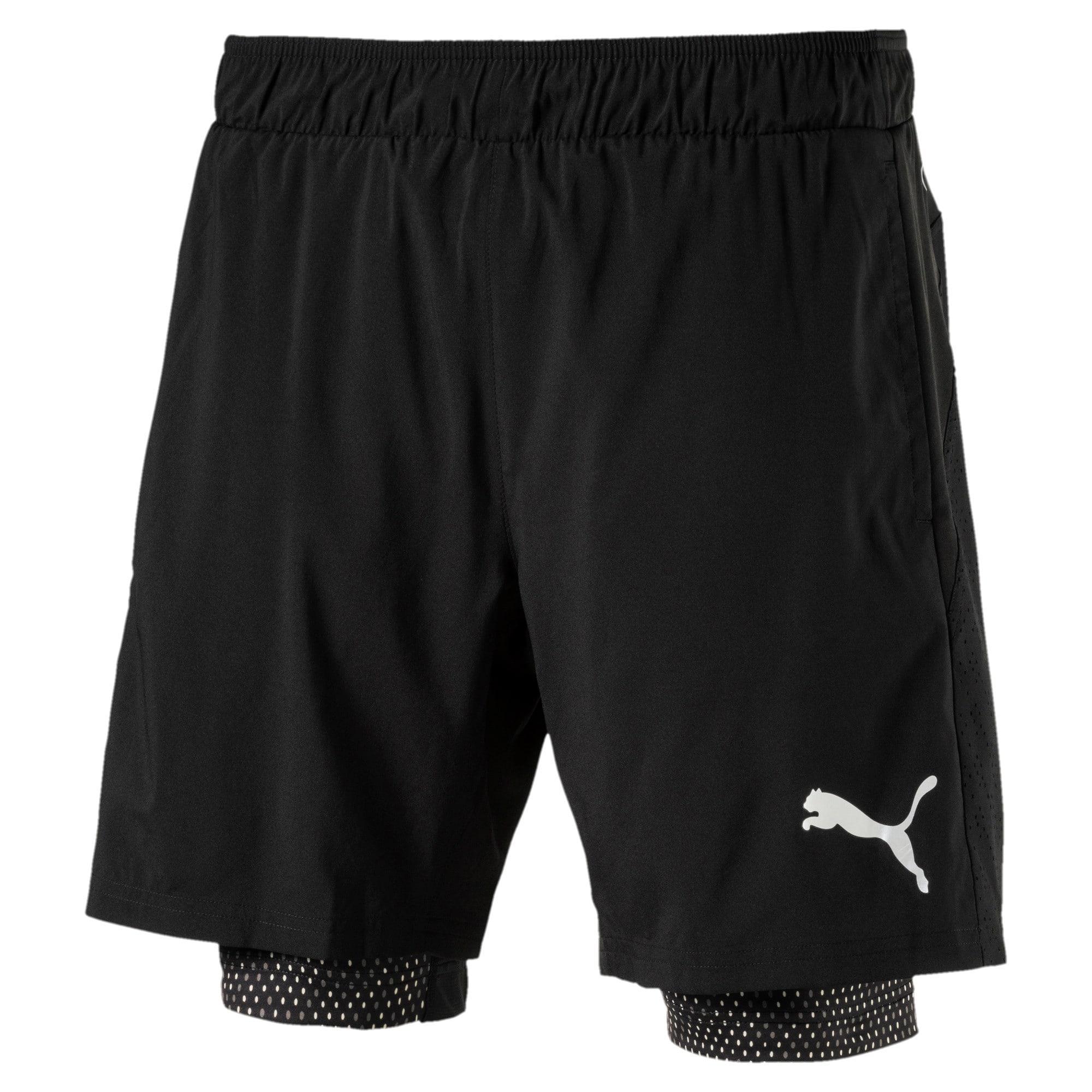 Thumbnail 4 of Active Training Men's 2 in 1 Shorts, Puma Black, medium-IND