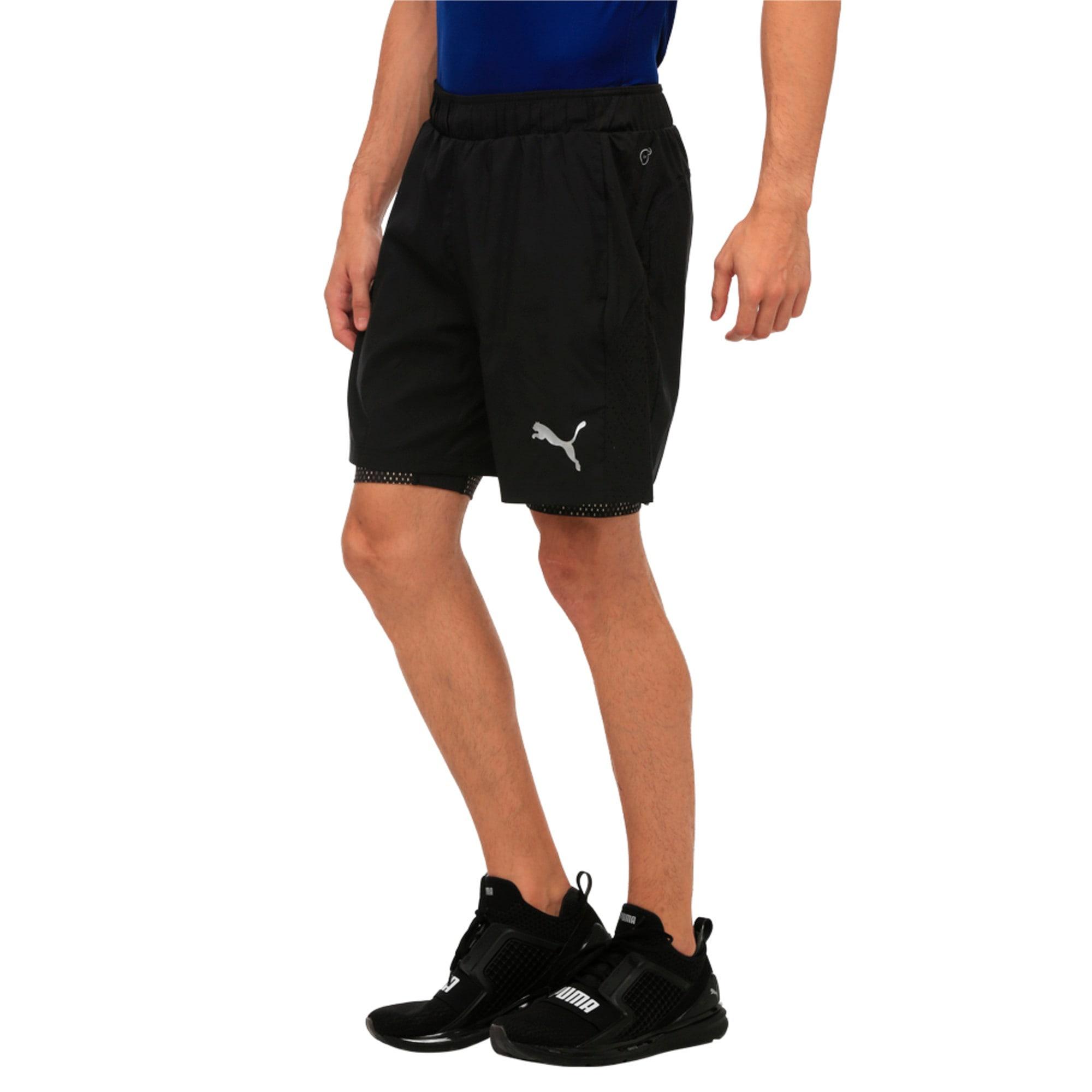 Thumbnail 2 of Active Training Men's 2 in 1 Shorts, Puma Black, medium-IND
