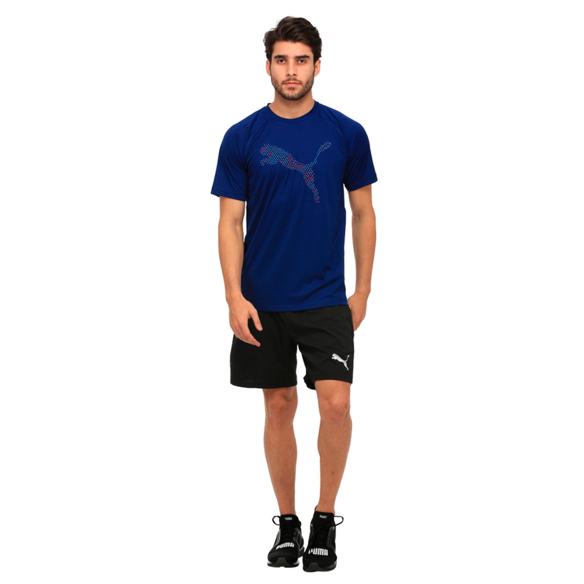 Thumbnail 3 of Active Training Men's 2 in 1 Shorts, Puma Black, medium-IND