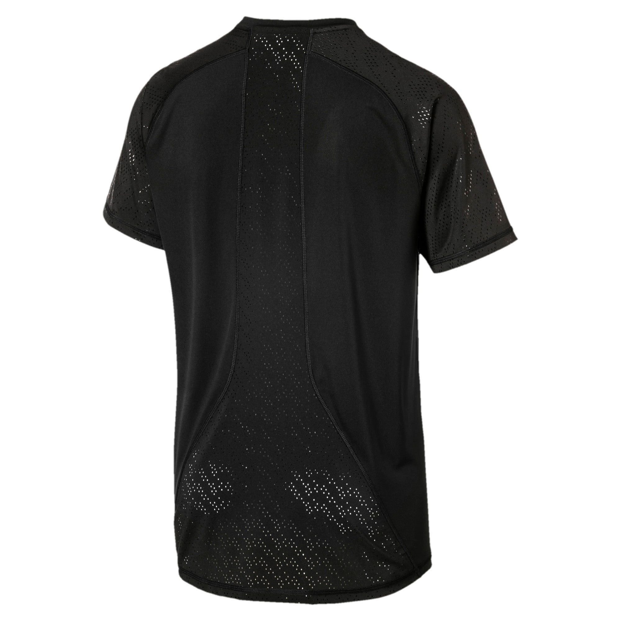 Thumbnail 4 of Active Training Men's Vent T-Shirt, Puma Black, medium-IND