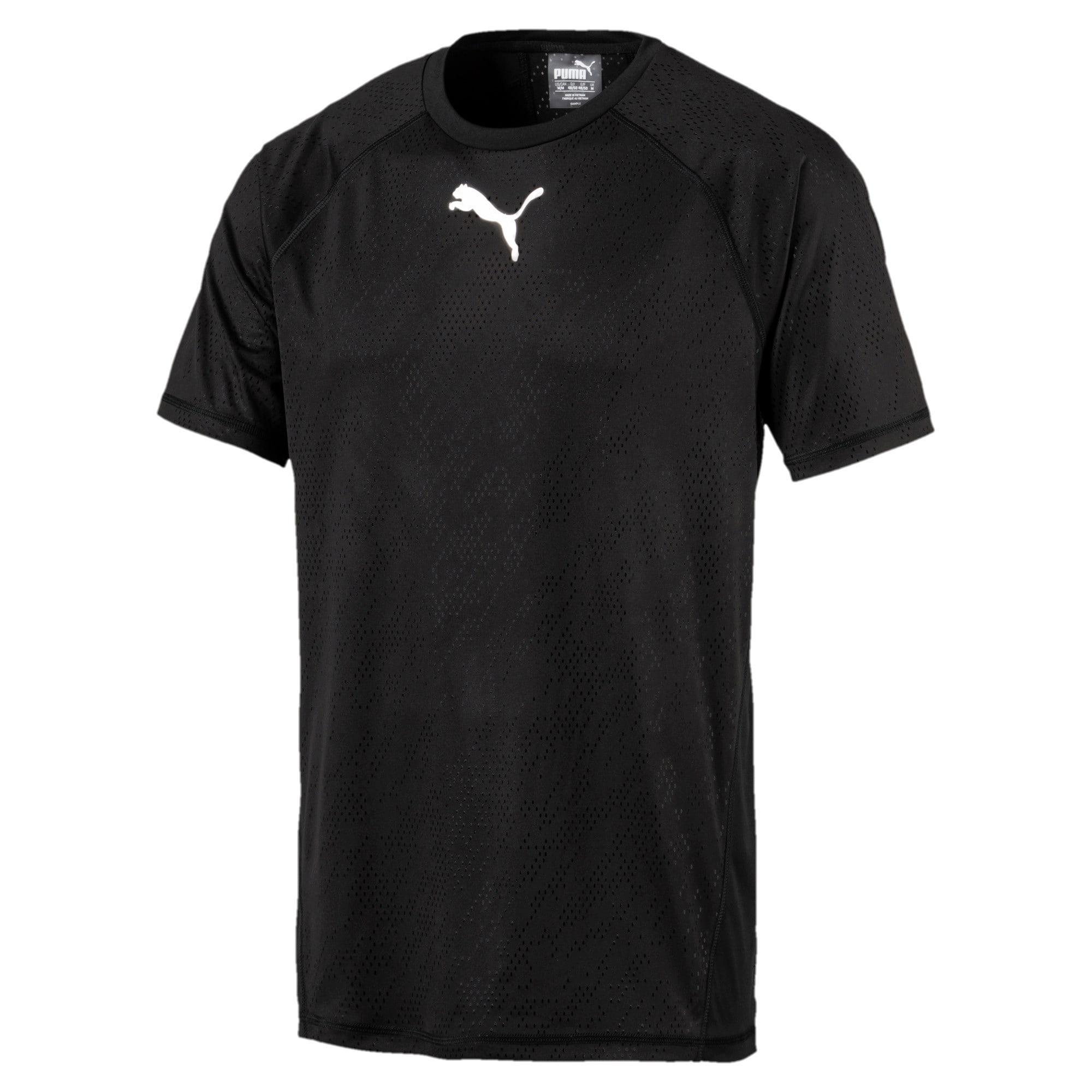 Thumbnail 5 of Active Training Men's Vent T-Shirt, Puma Black, medium-IND