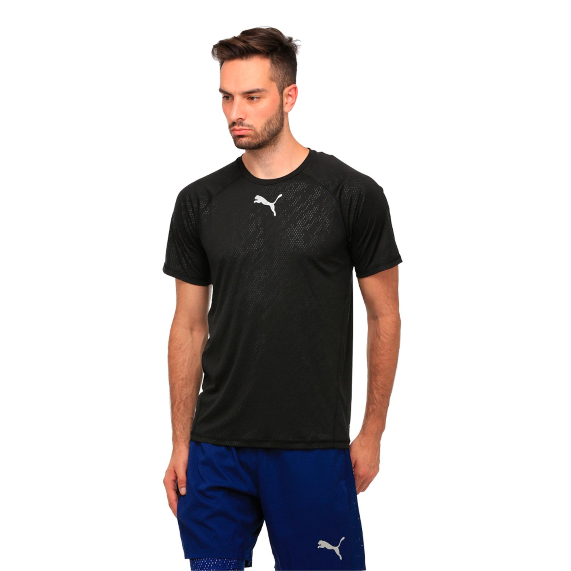 Thumbnail 1 of Active Training Men's Vent T-Shirt, Puma Black, medium-IND