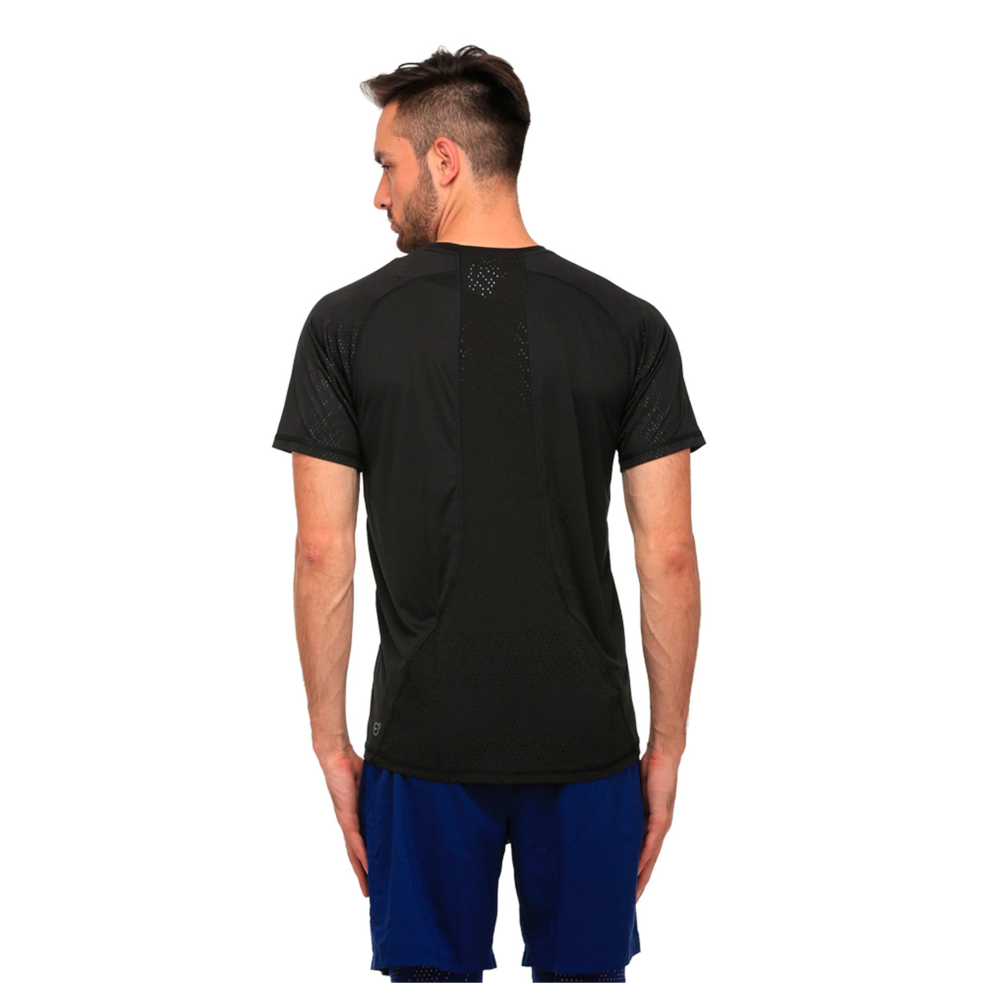 Thumbnail 2 of Active Training Men's Vent T-Shirt, Puma Black, medium-IND