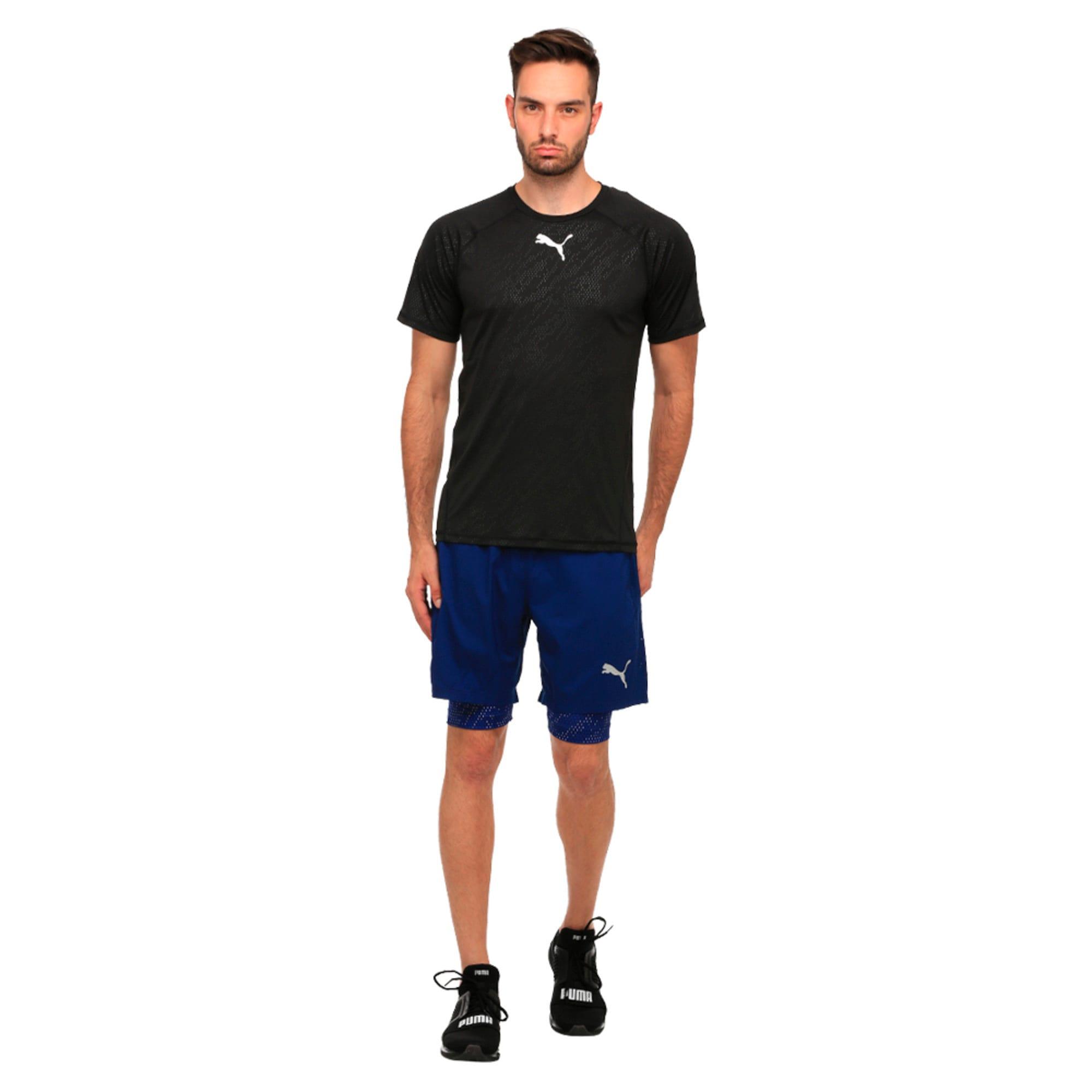 Thumbnail 3 of Active Training Men's Vent T-Shirt, Puma Black, medium-IND