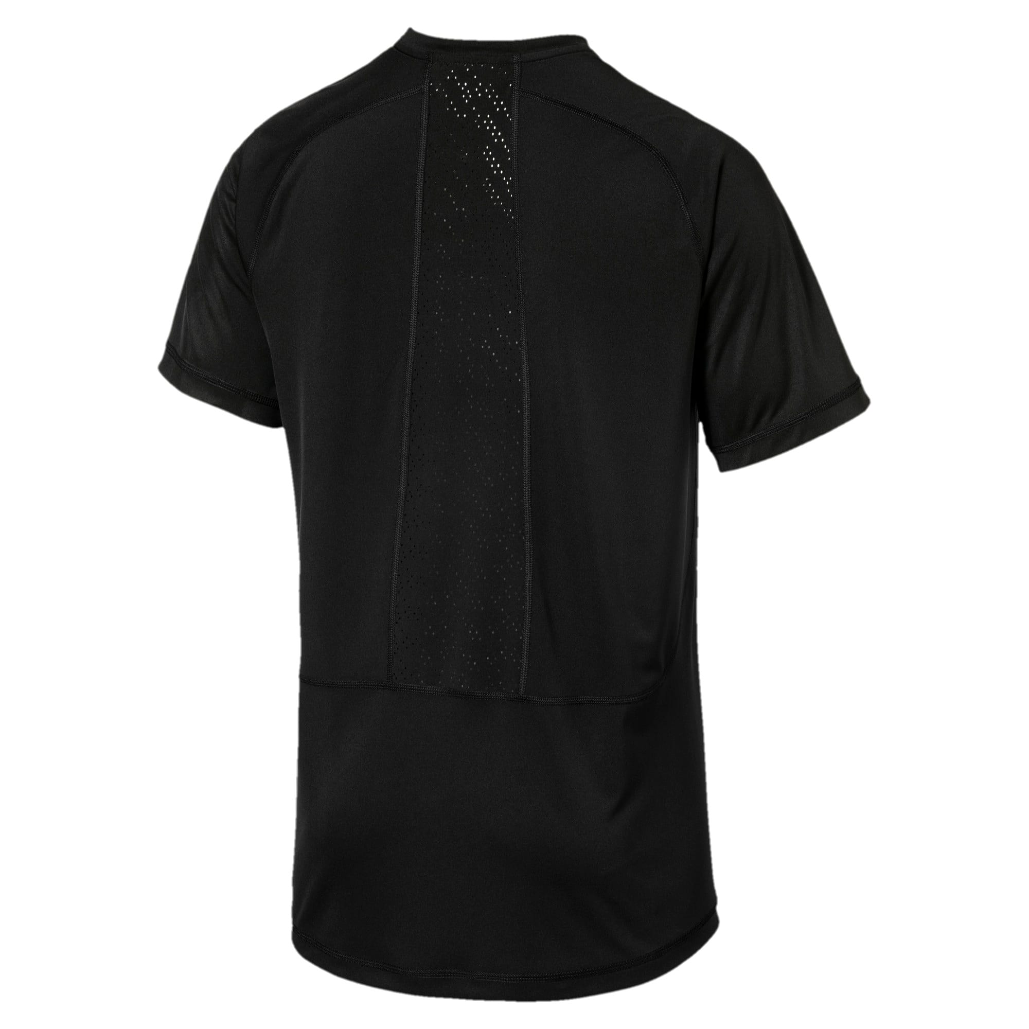 Thumbnail 5 of Active Training Men's Vent Cat T-Shirt, Puma Black, medium-IND