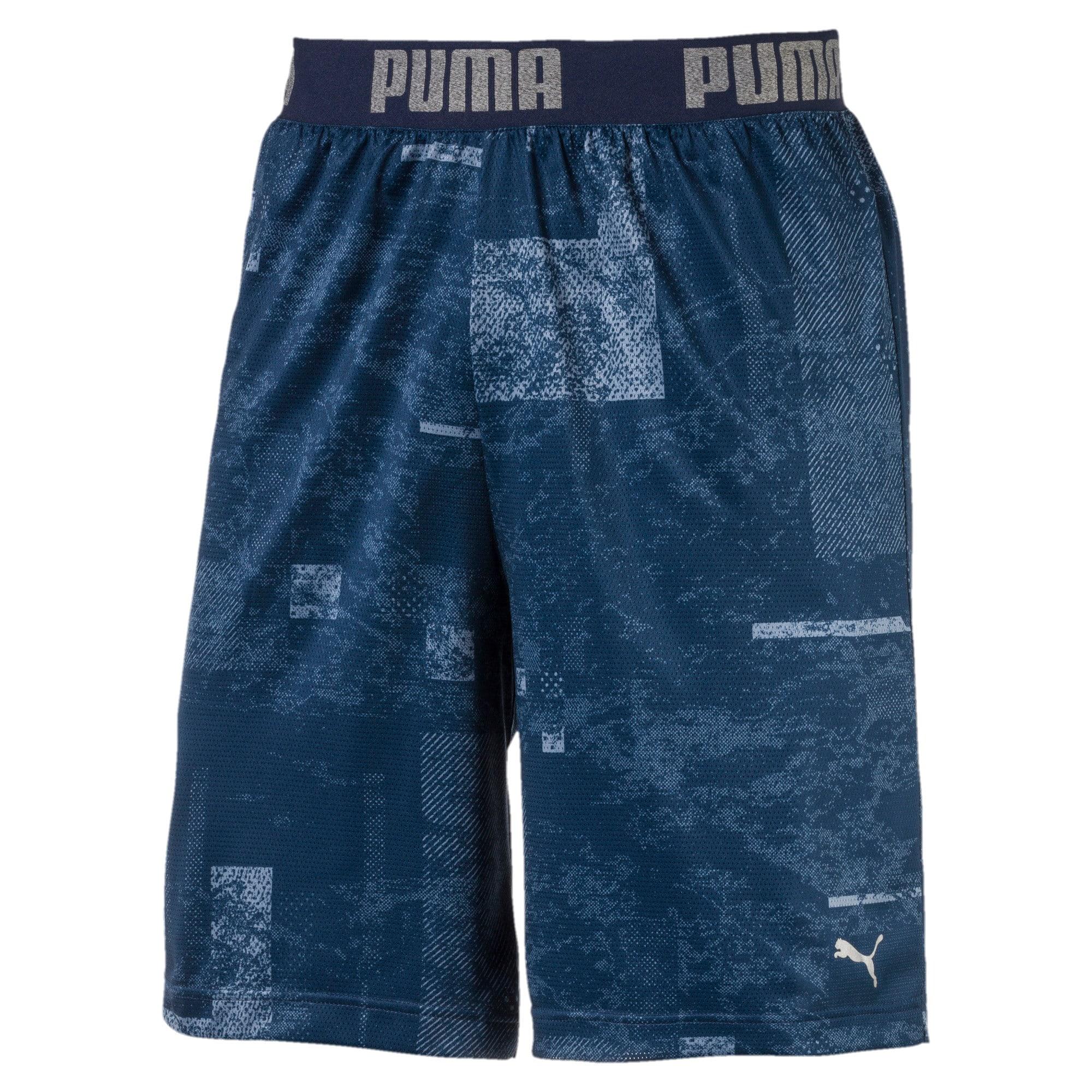 Thumbnail 3 of Active Training Men's Reversible Shorts, Infinity-Sargasso Sea, medium-IND