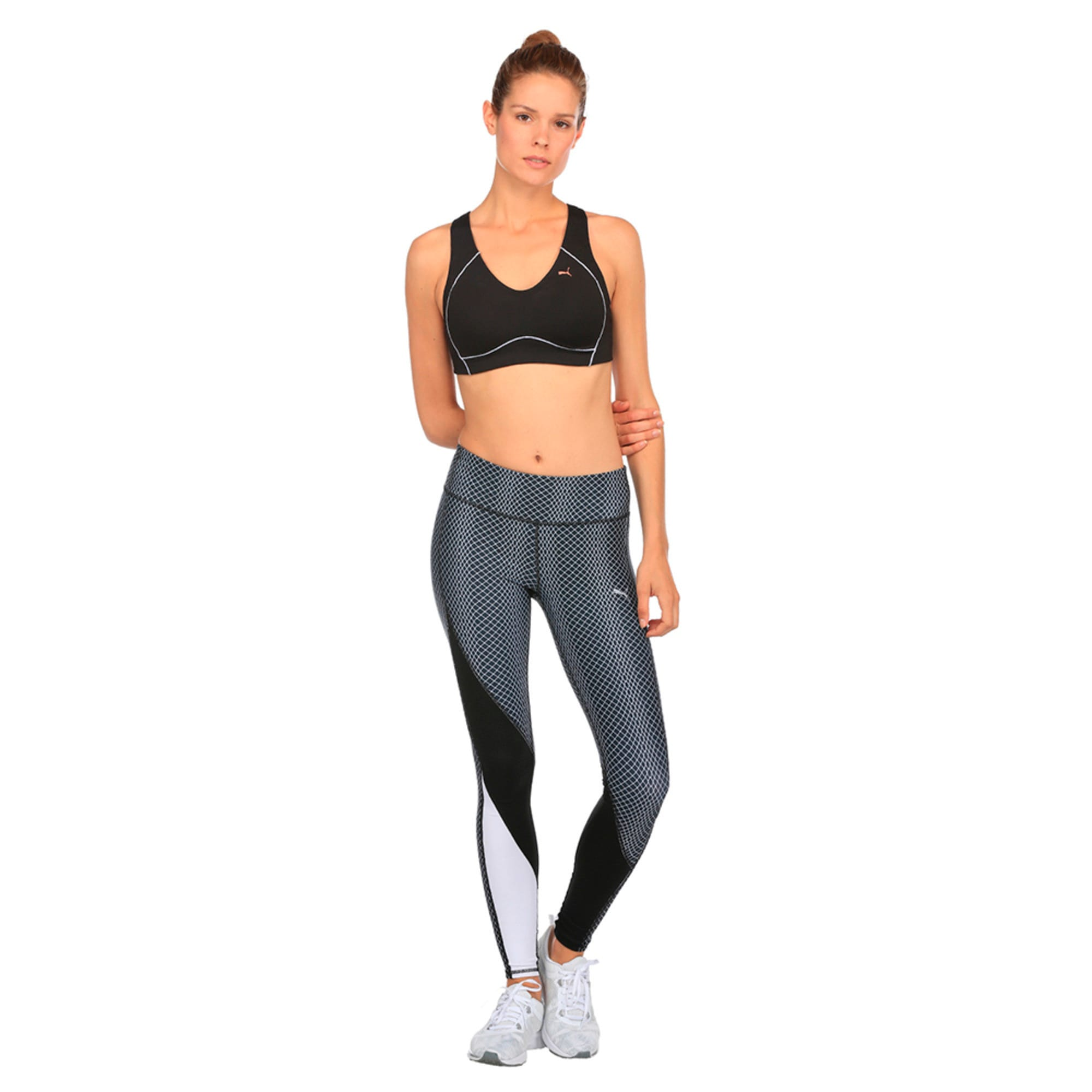 Thumbnail 2 of Training Women's PWRRUN Bra Top, Puma Black, medium-IND
