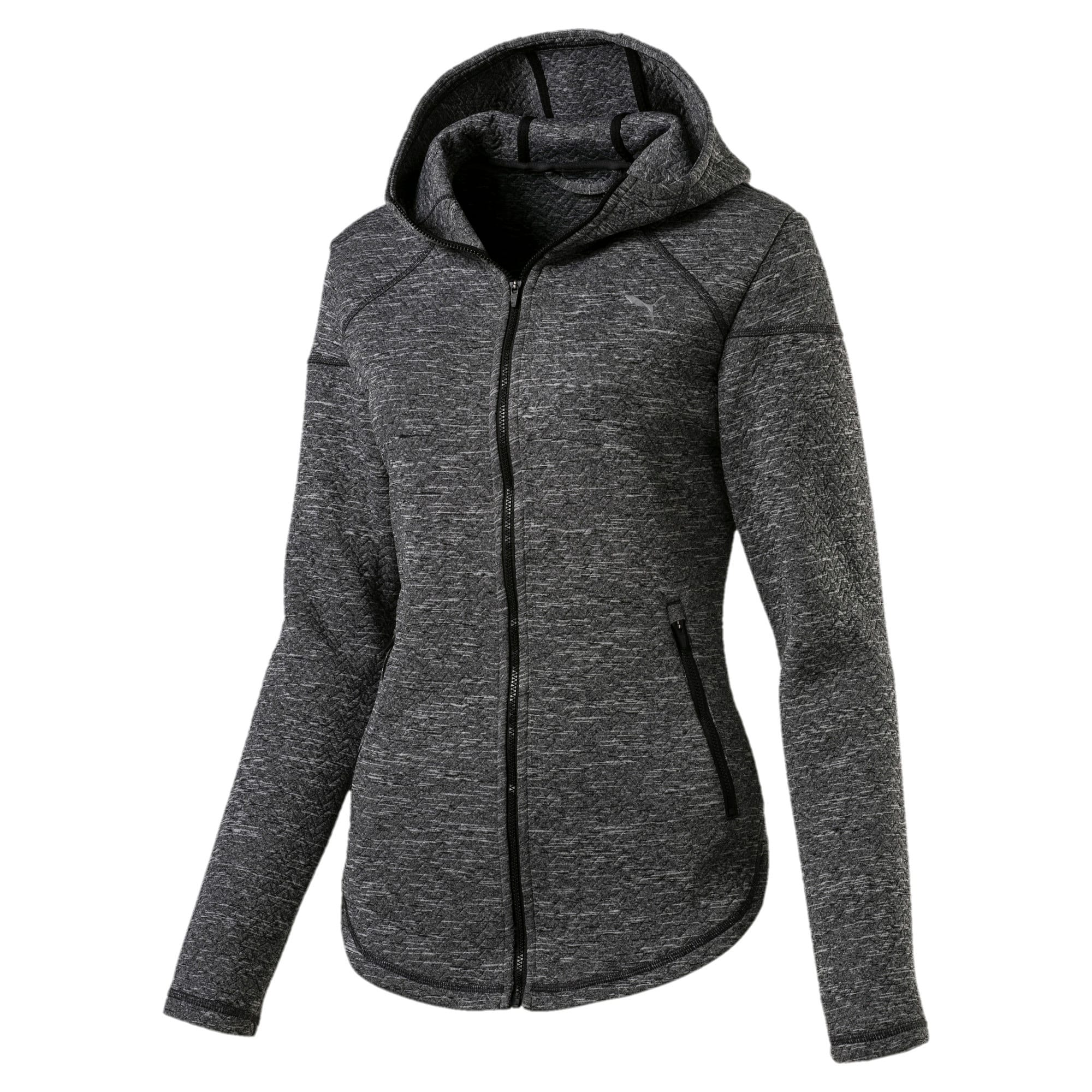 Thumbnail 4 of Active Training Women's Nocturnal Winterized Jacket, Dark Gray Heather, medium-IND