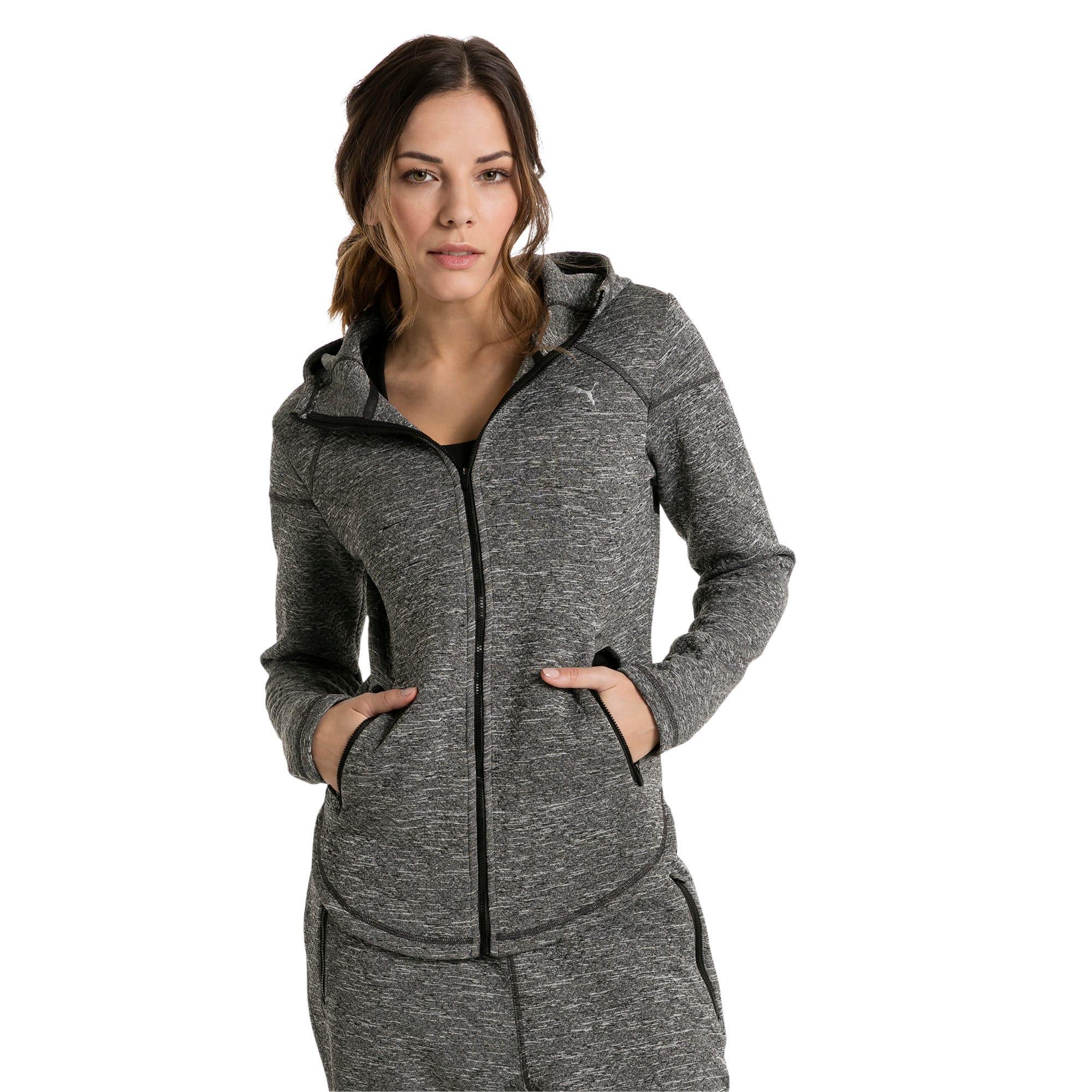 Thumbnail 1 of Active Training Women's Nocturnal Winterized Jacket, Dark Gray Heather, medium-IND
