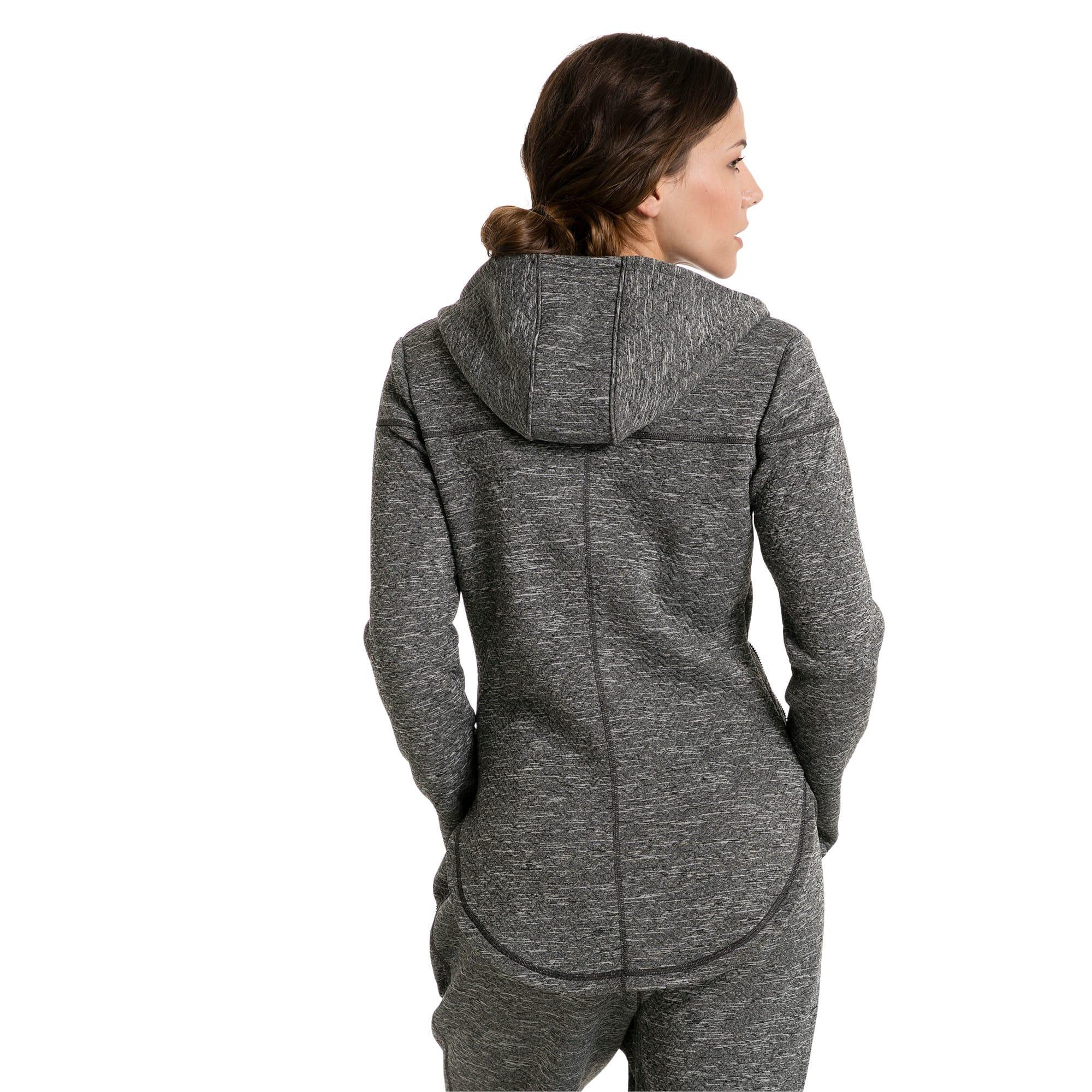 Thumbnail 2 of Active Training Women's Nocturnal Winterized Jacket, Dark Gray Heather, medium-IND