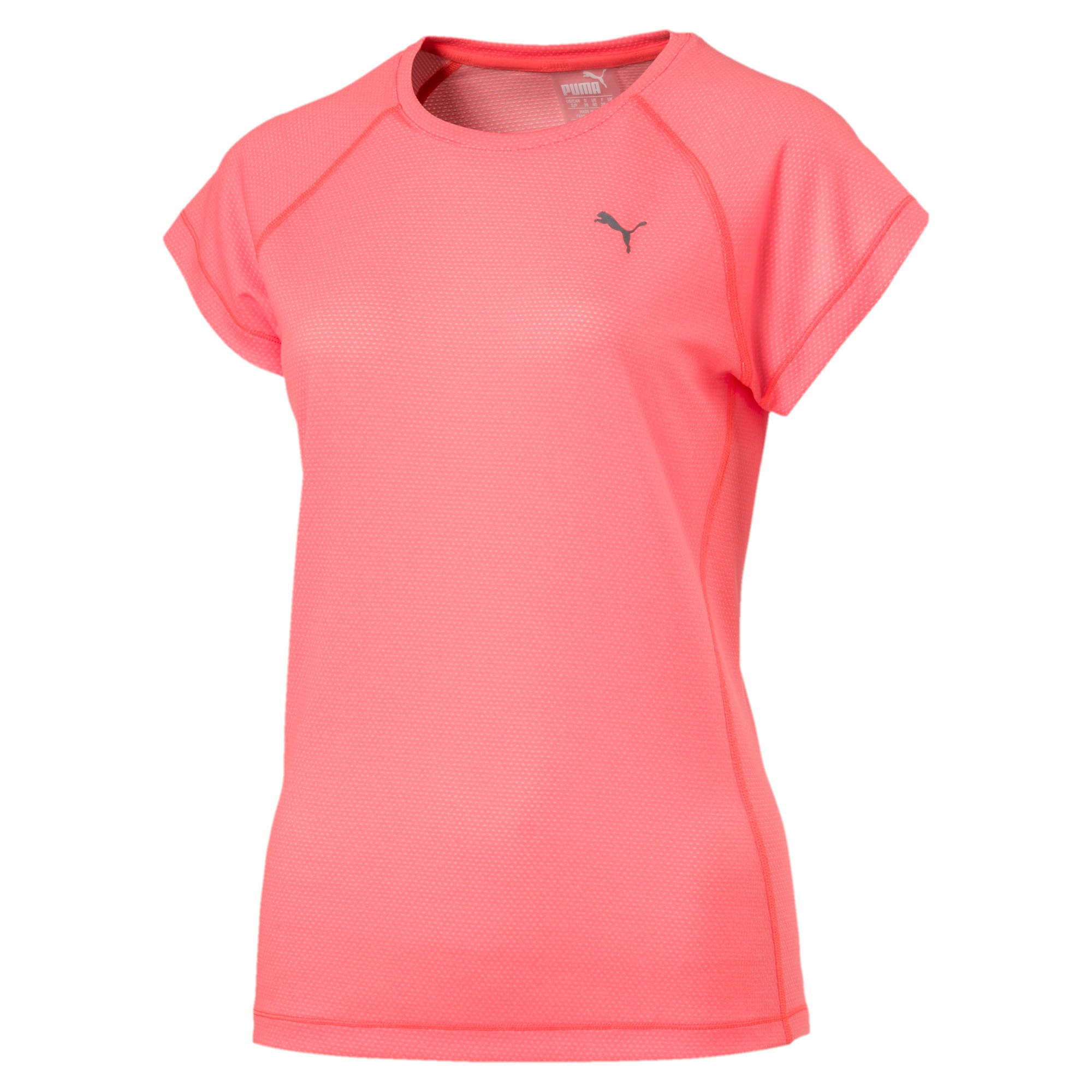 Thumbnail 4 of Running Women's Adapt Thermo-R T-Shirt, Nrgy Peach, medium-IND