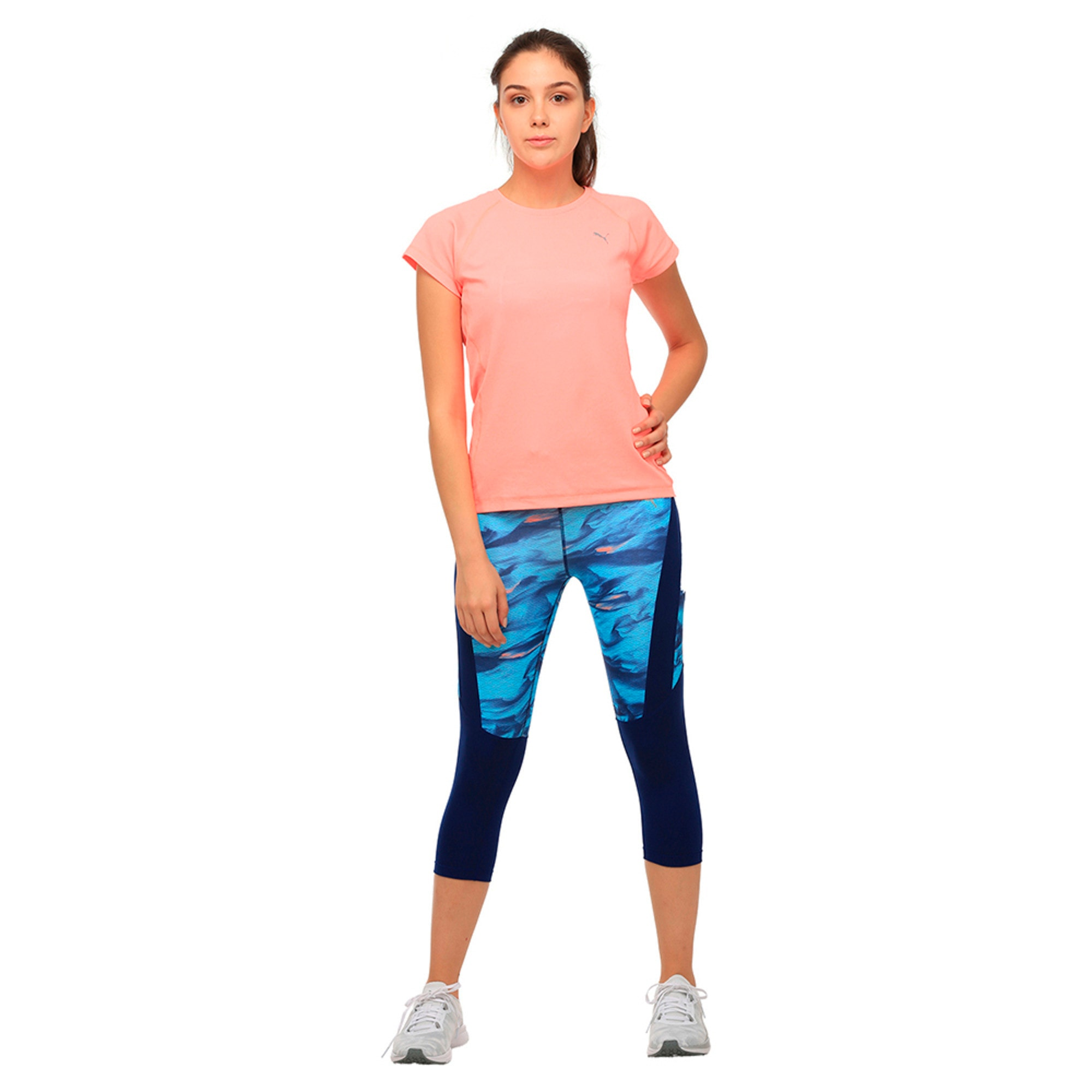 Thumbnail 3 of Running Women's Adapt Thermo-R T-Shirt, Nrgy Peach, medium-IND
