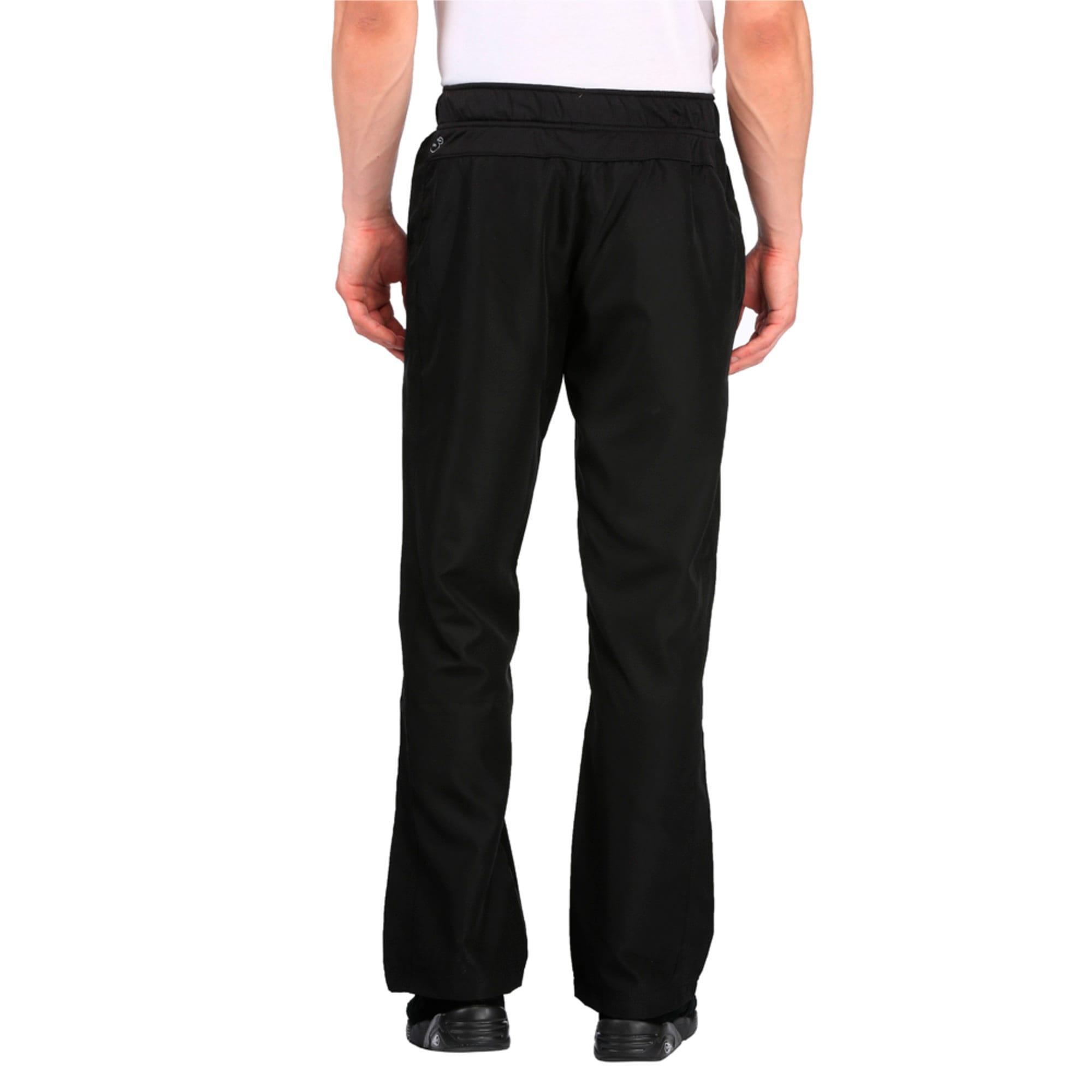 Thumbnail 4 of Essential Woven Pant, Puma Black, medium-IND