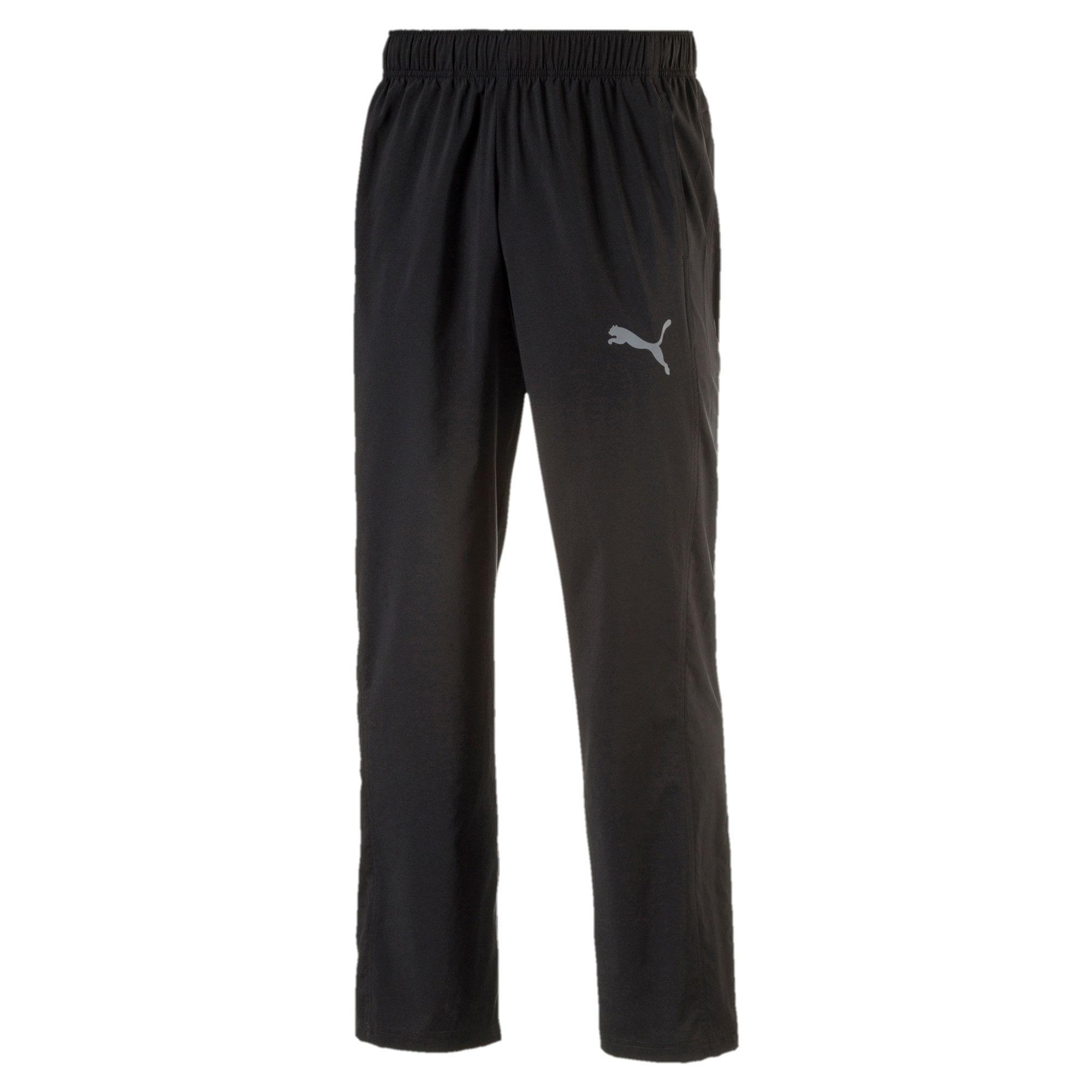 Thumbnail 3 of Essential Woven Pant, Puma Black, medium-IND