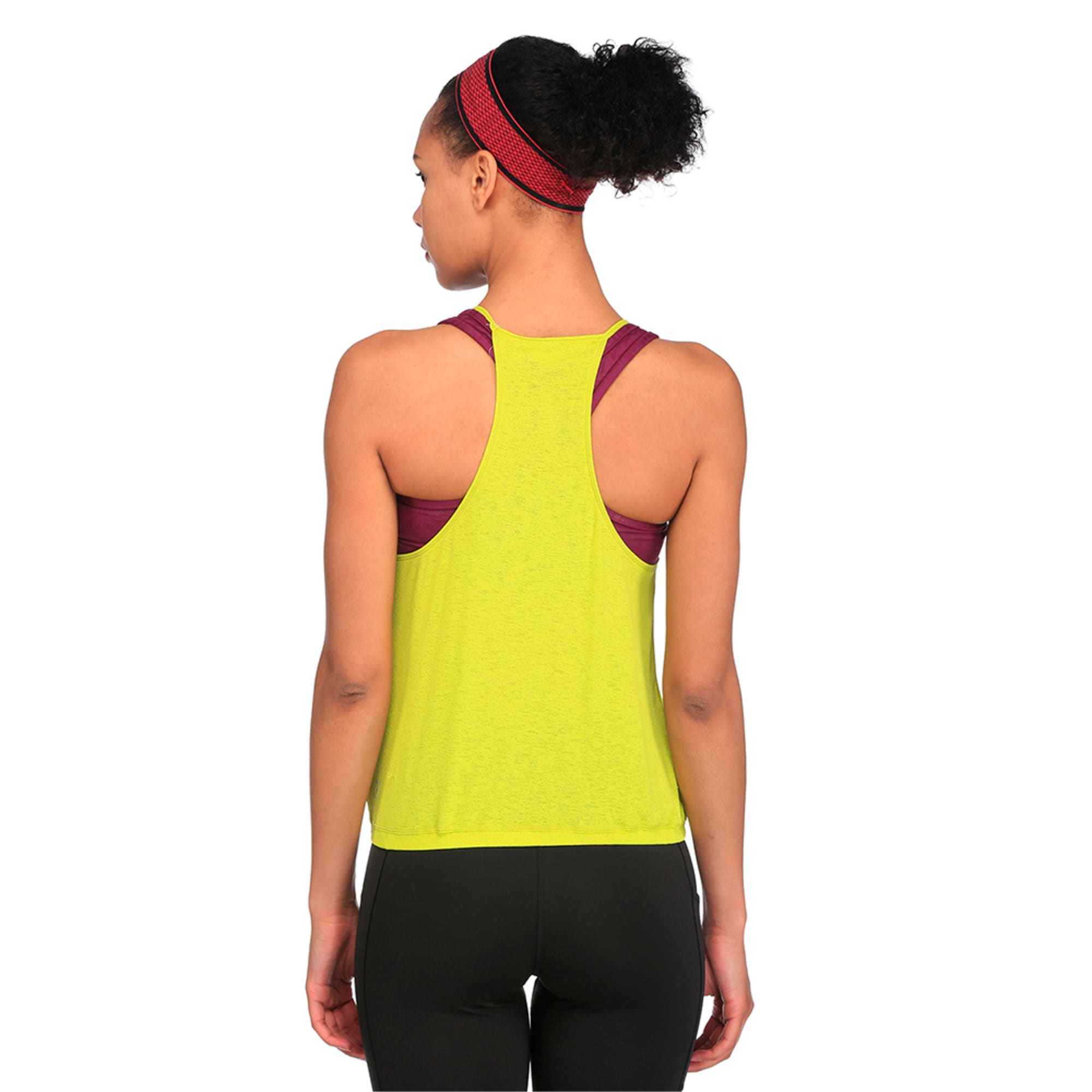 Thumbnail 4 of Active Training Women's Dancer Drapey Solid Tank Top, Nrgy Yellow, medium-IND
