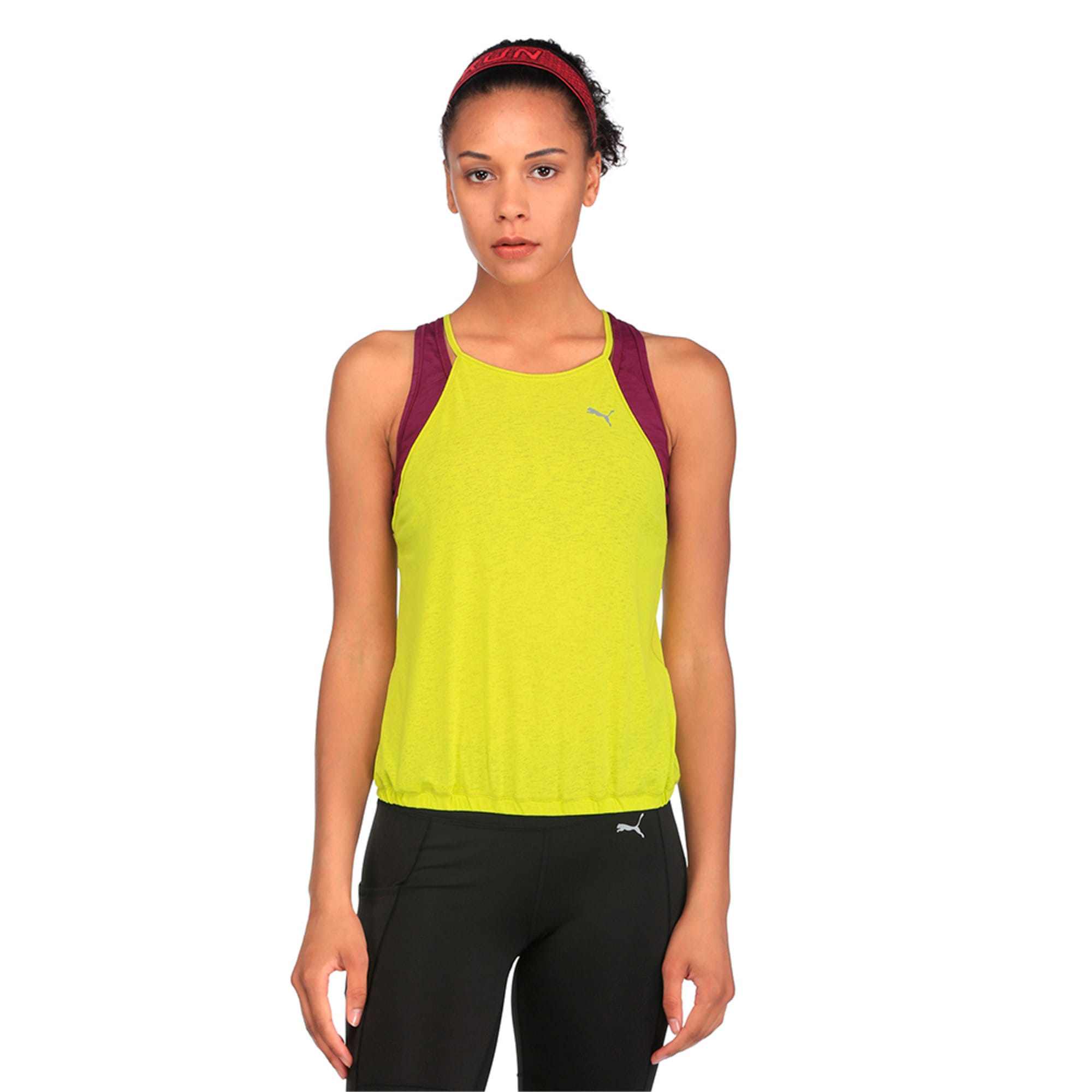 Thumbnail 5 of Active Training Women's Dancer Drapey Solid Tank Top, Nrgy Yellow, medium-IND