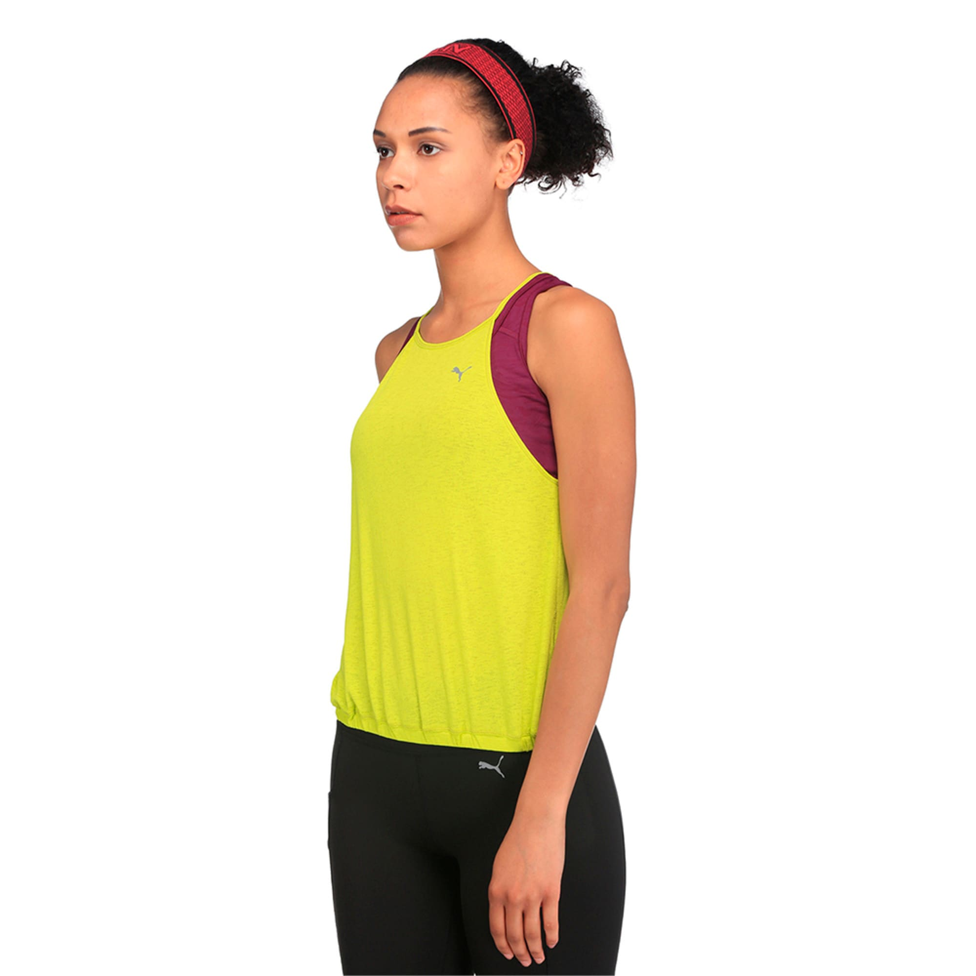 Thumbnail 1 of Active Training Women's Dancer Drapey Solid Tank Top, Nrgy Yellow, medium-IND
