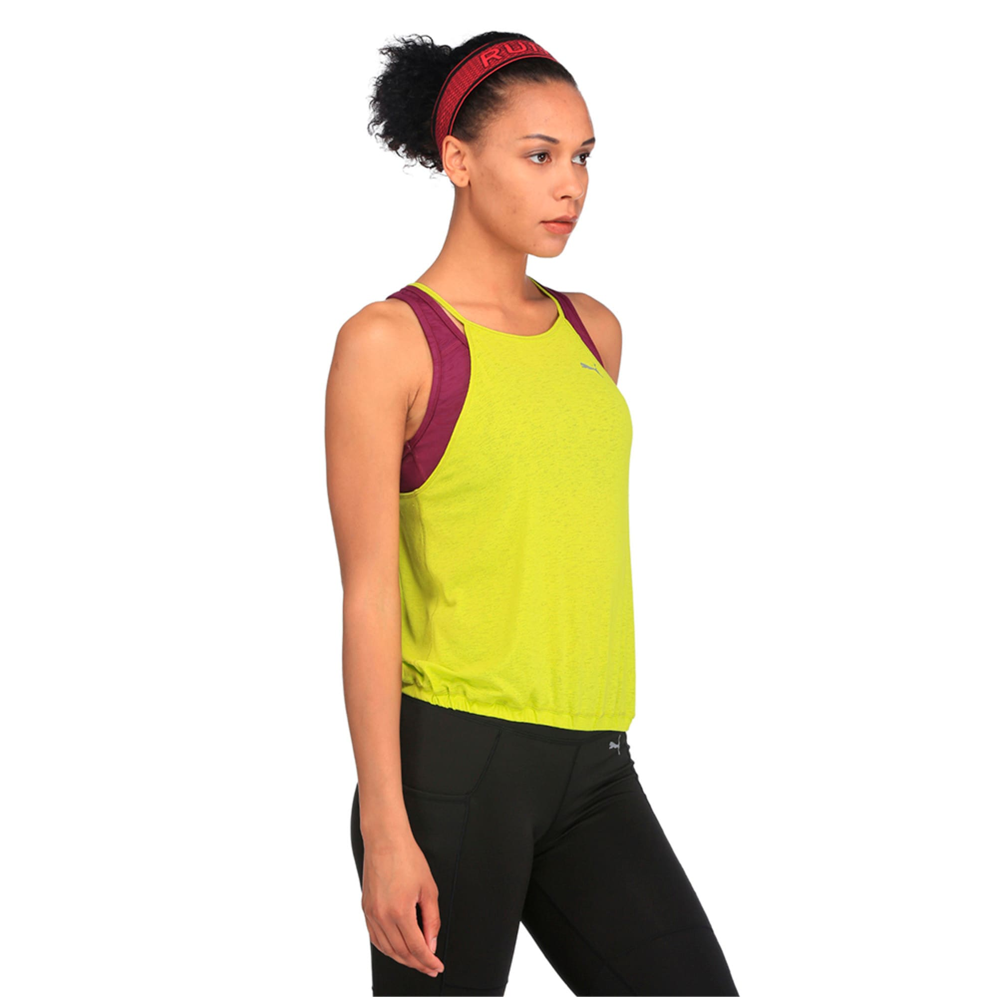 Thumbnail 2 of Active Training Women's Dancer Drapey Solid Tank Top, Nrgy Yellow, medium-IND
