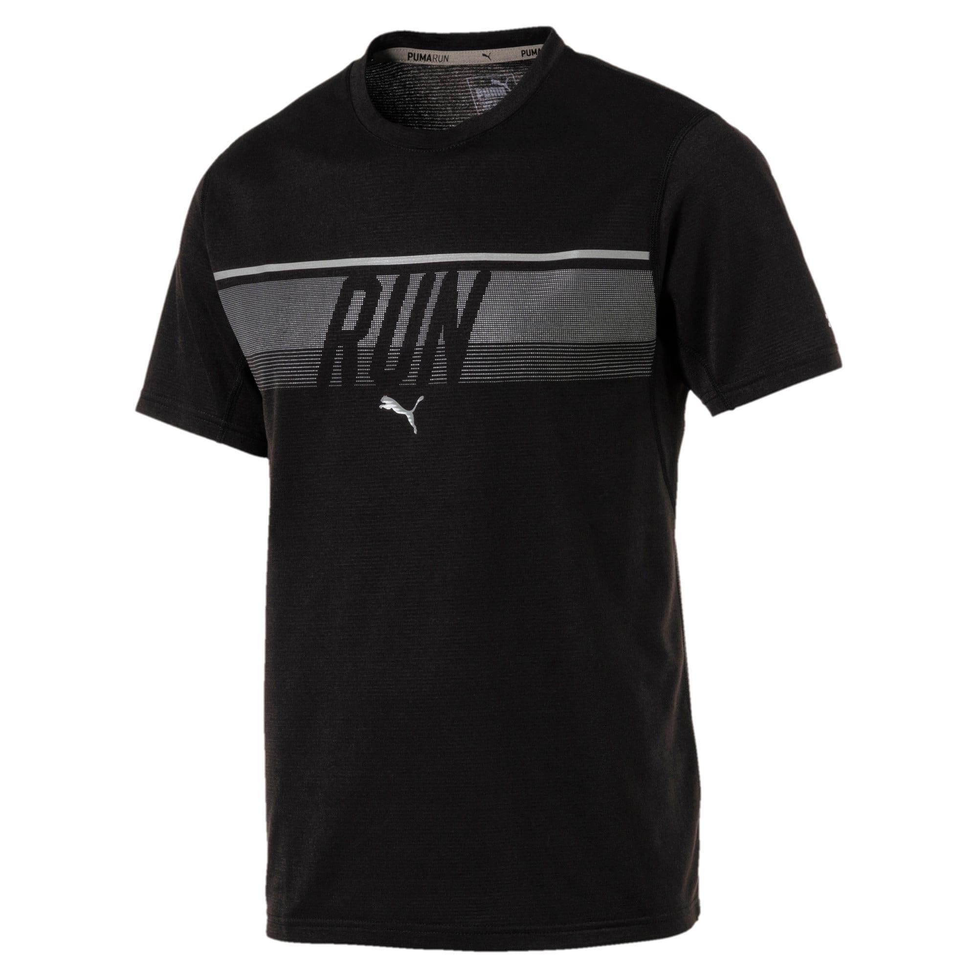 Thumbnail 4 of Run Men's Running T-Shirt, Puma Black, medium-IND