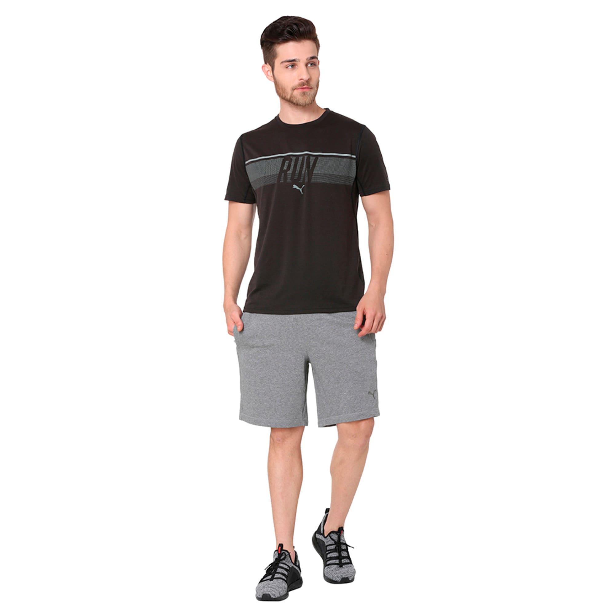 Thumbnail 3 of Run Men's Running T-Shirt, Puma Black, medium-IND