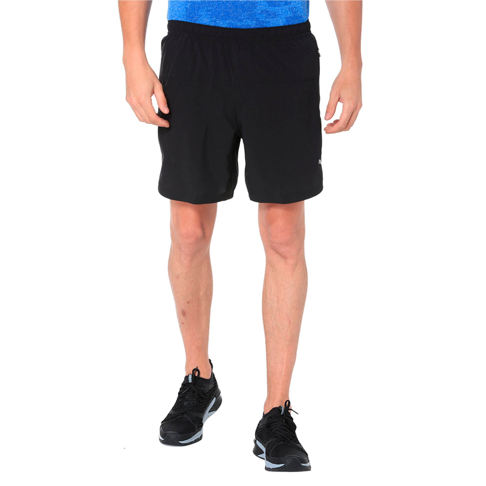 Thumbnail 3 of Pace 7'' Men's Running Shorts, Puma Black, medium-IND