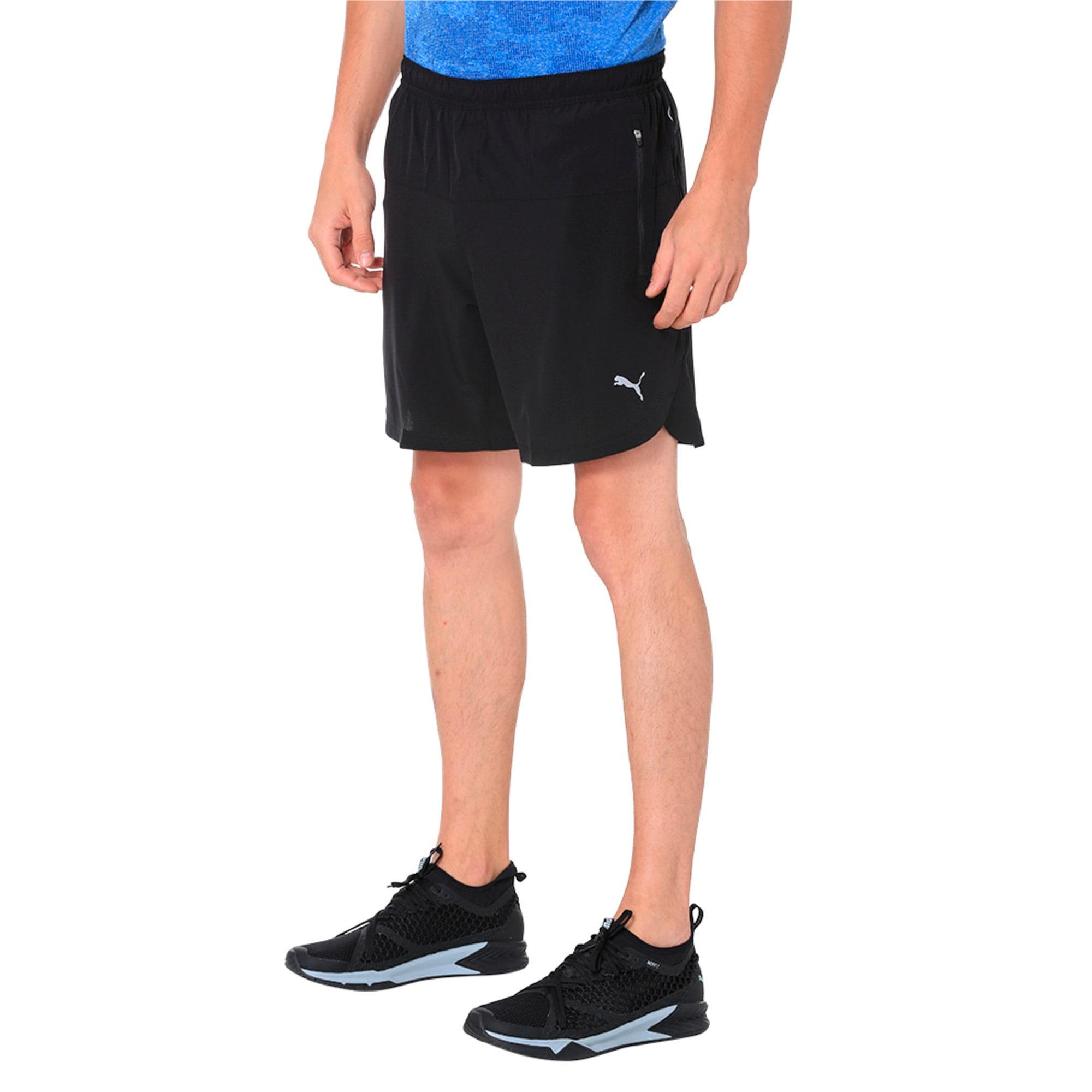 Thumbnail 1 of Pace 7'' Men's Running Shorts, Puma Black, medium-IND